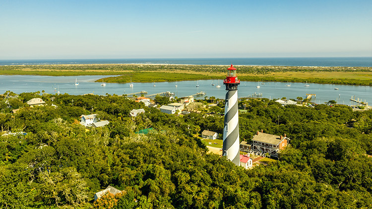 Most Haunted Places In Florida | St. Augustine Lighthouse