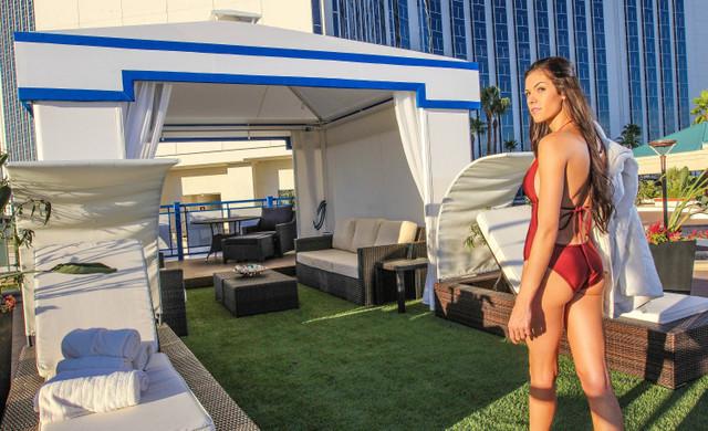 Pool & Cabanas   Westgate Las Vegas Resort & Casino