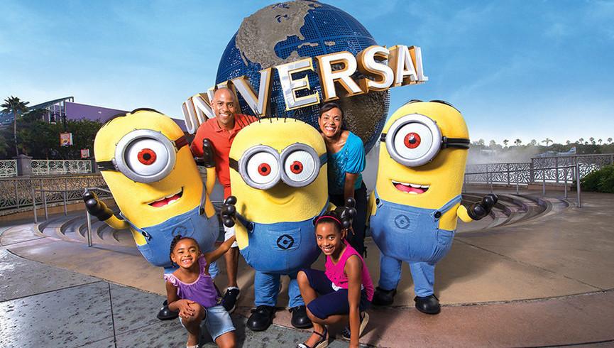 Family Having Fun Near our hotel in Orlando Florida | Hotels Near I Drive Orlando, FL | Westgate Palace Resort Near 32819