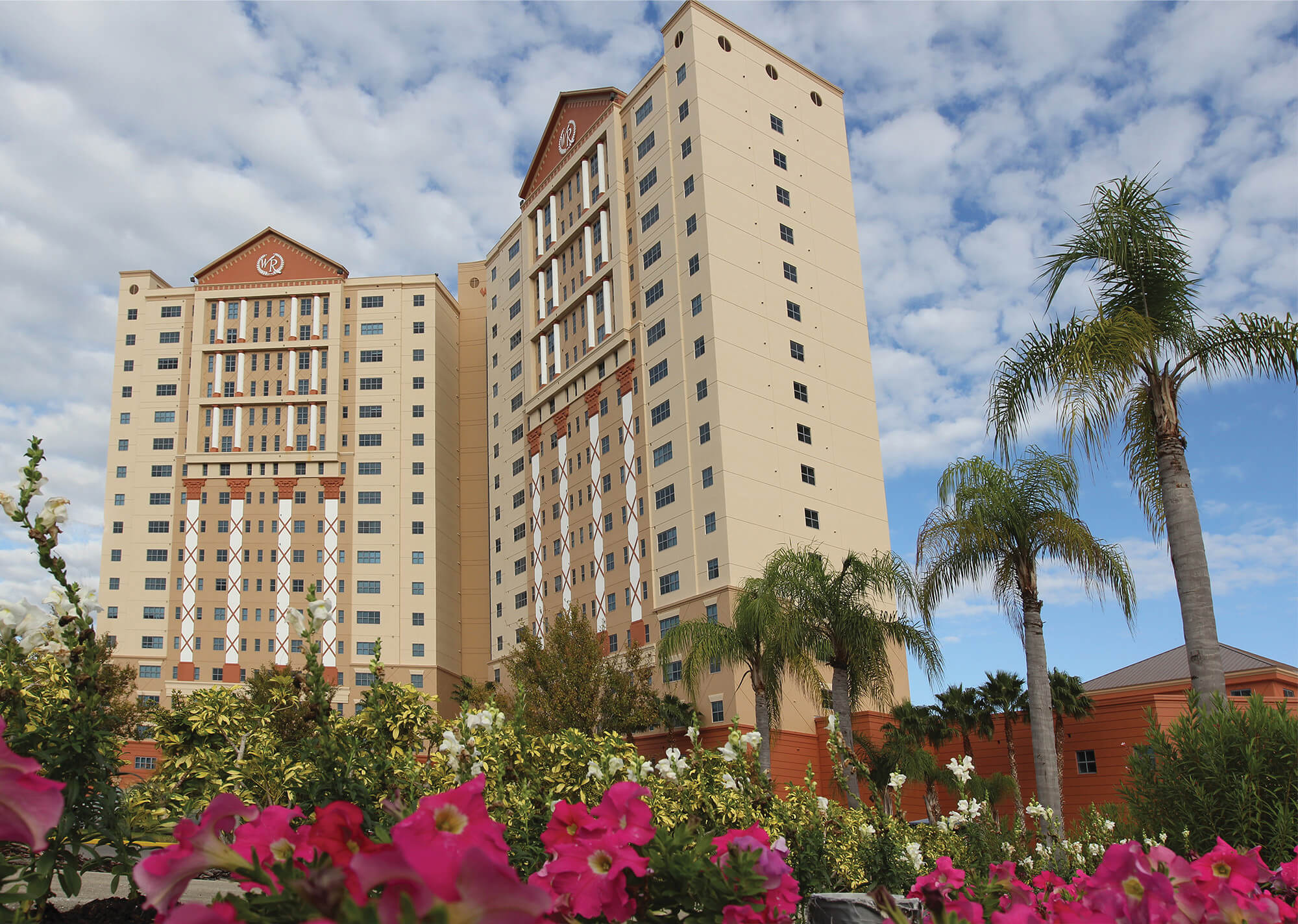 Exterior of our resorts near International Drive Orlando | Westgate Palace Resort | Westgate Resorts