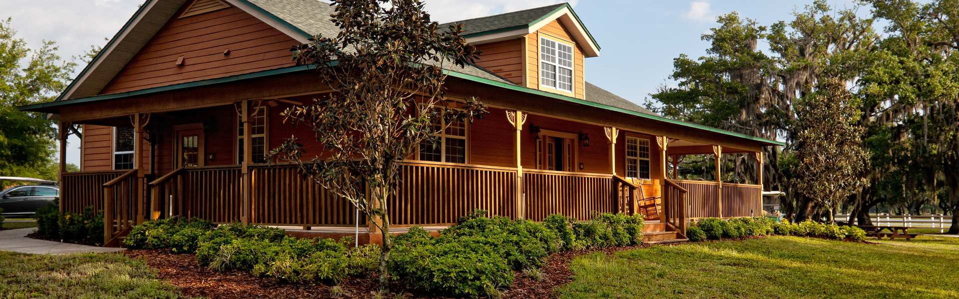 An authentic Florida dude ranch nestled in one of the few untouched pieces of Florida wilderness, Westgate River Ranch Resort & Rodeo lies just one hour south of Orlando and features a variety of Florida cowboy-themed accommodations and activities.
