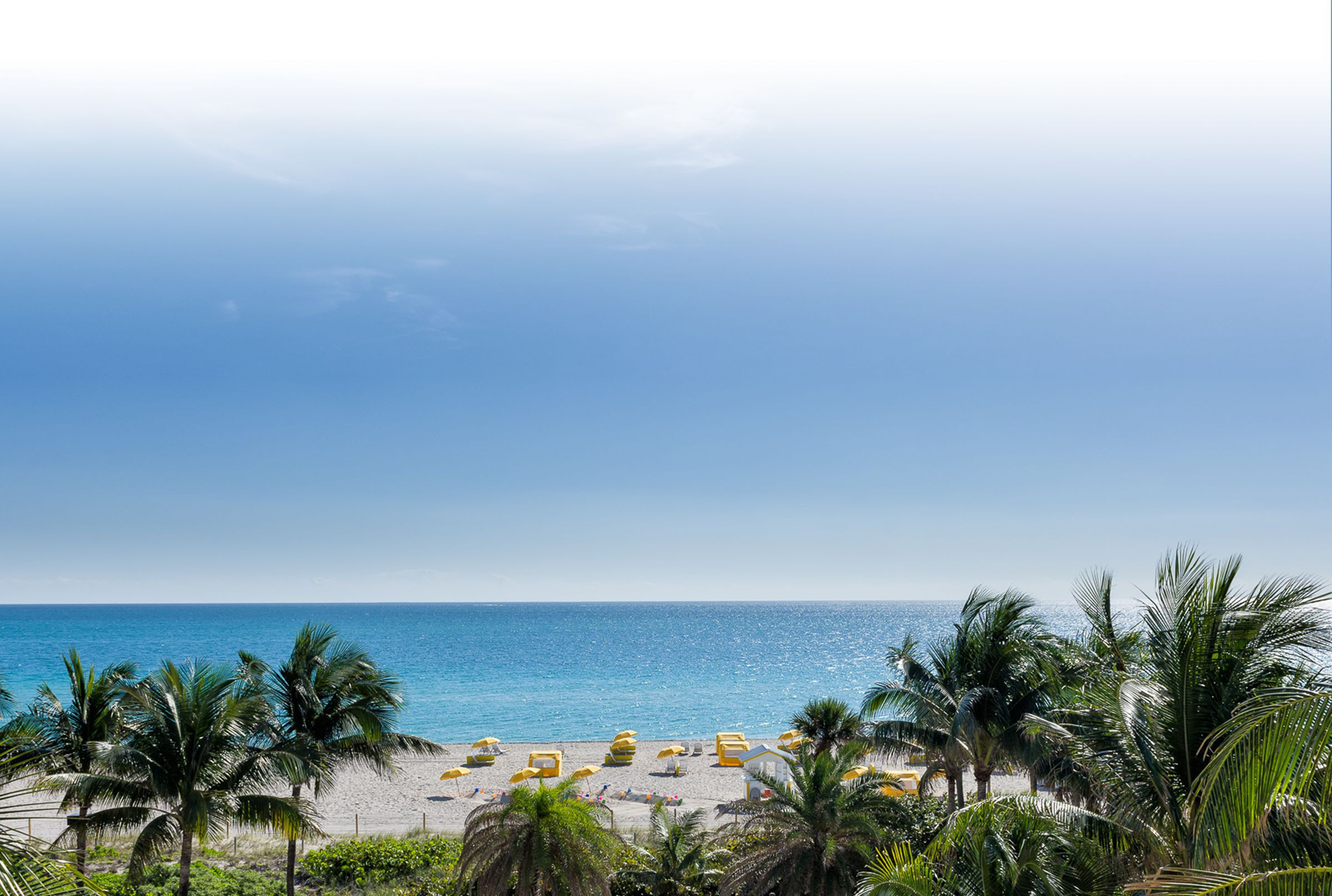 View from one of our Miami Florida resorts |  Westgate South Beach Oceanfront Resort | Westgate Resorts