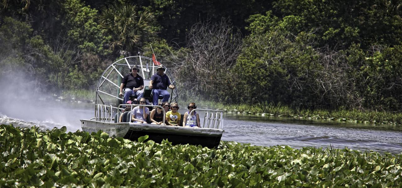 Airboat Rides near Orlando, FL |  Westgate River Ranch Resort & Rodeo | Westgate Resorts
