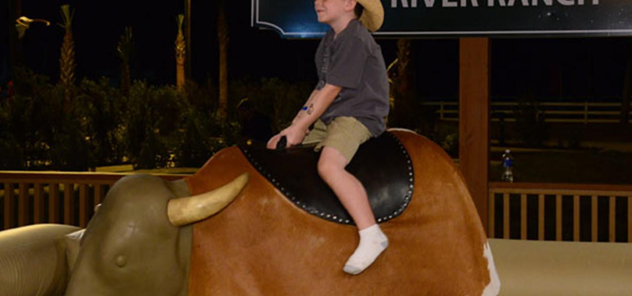 Mechanical Bull Near Orlando, FL |  Westgate River Ranch Resort & Rodeo | Westgate Resorts