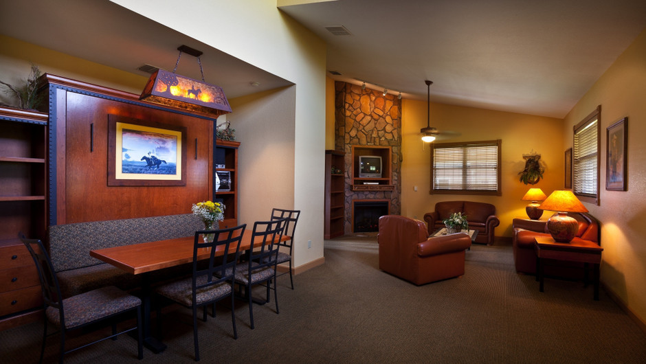 Saddle Club Two-Bedroom Cabin |  Westgate River Ranch Resort & Rodeo | Westgate Resorts