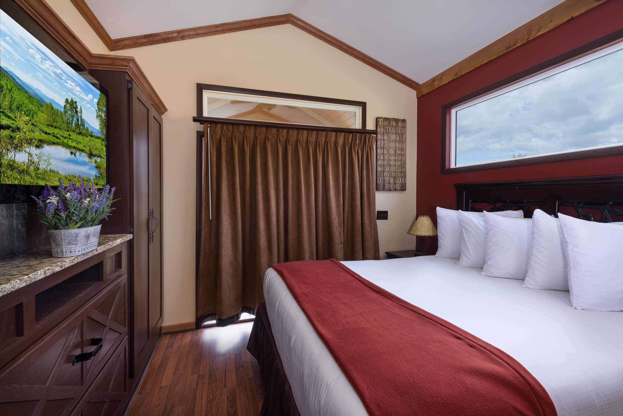 Queen Bed in Rail Car | Westgate River Ranch Resort & Rodeo