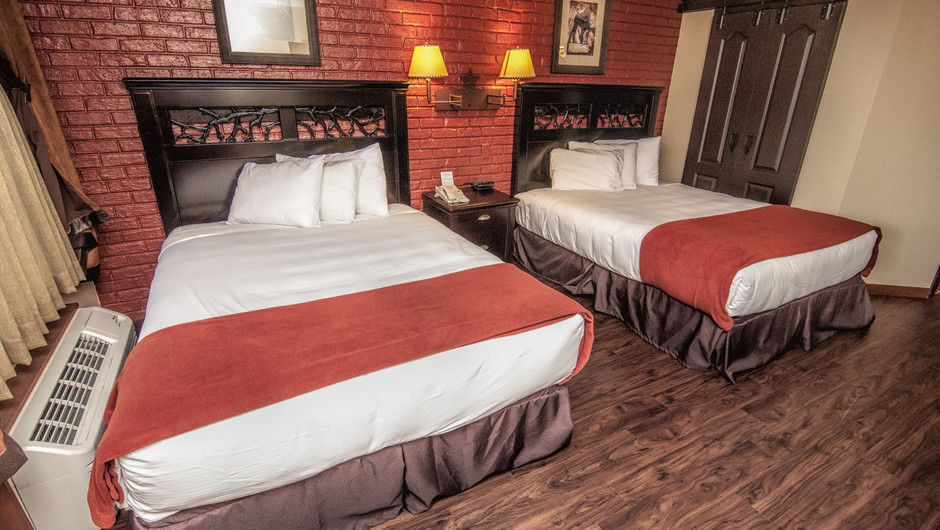 Two Beds in Lodge Guest Room |  Westgate River Ranch Resort & Rodeo | Westgate Resorts