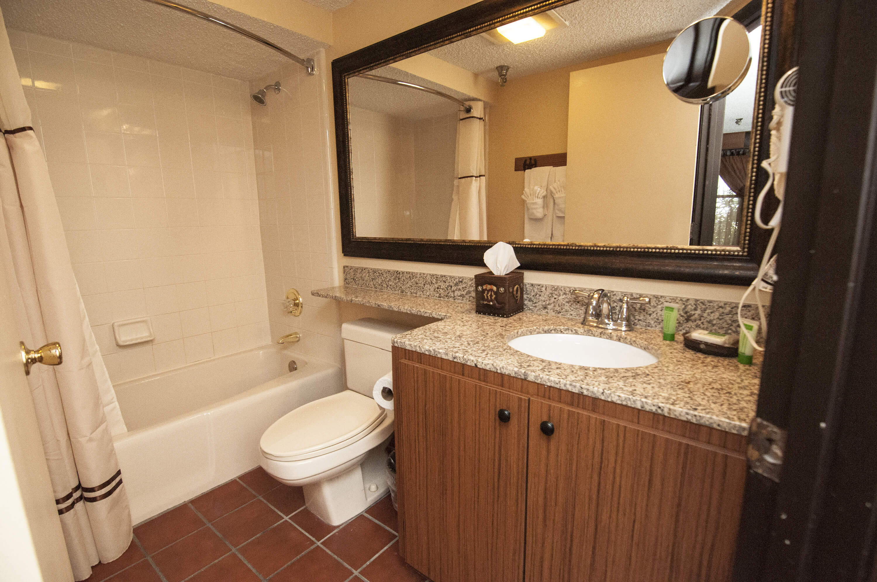 Bathroom in Lodge Guest Room |  Westgate River Ranch Resort & Rodeo | Westgate Resorts