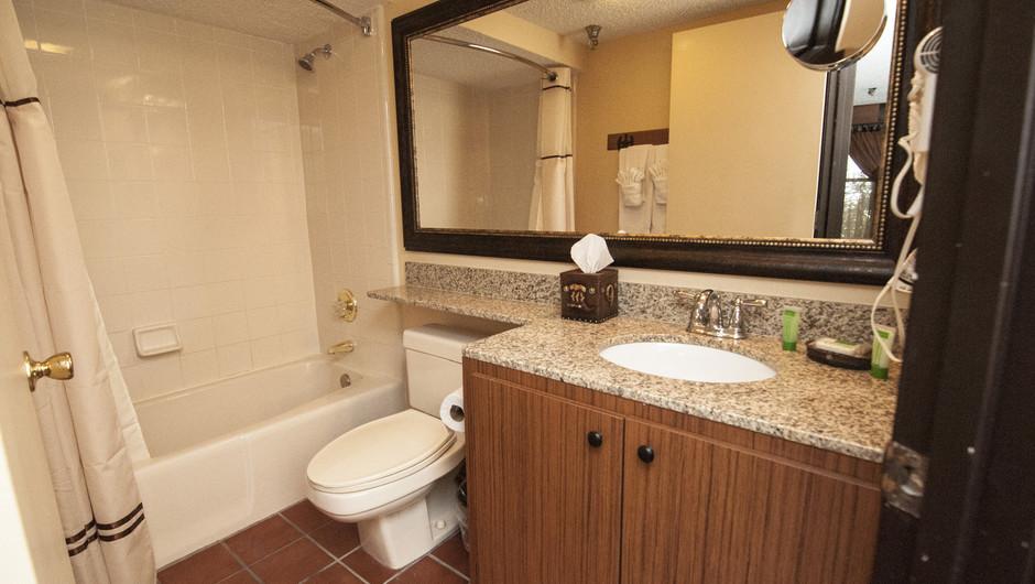 Bathroom in Lodge Guest Room |  Westgate River Ranch Resort & Rodeo | Westgate Resorts