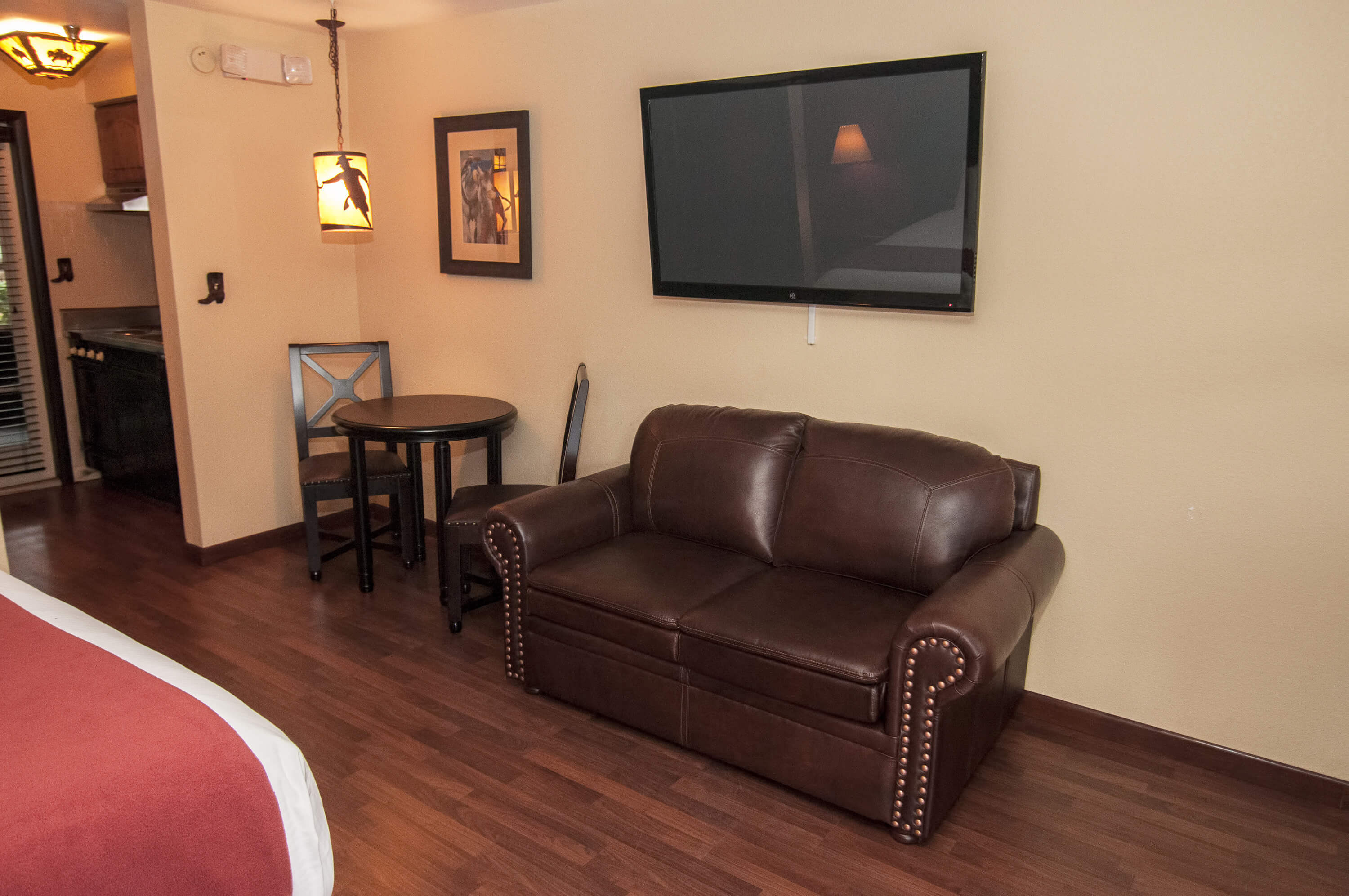 Rustic Furnishings in the Lodge Suite |  Westgate River Ranch Resort & Rodeo | Westgate Resorts