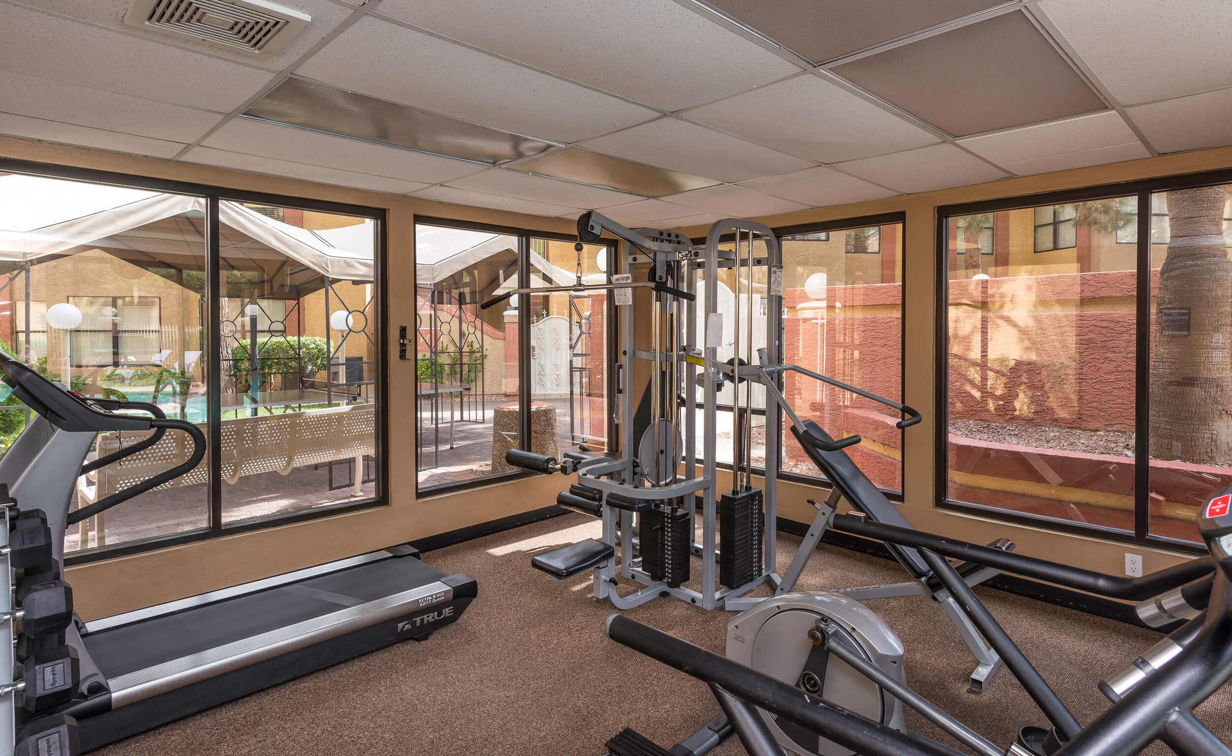Fitness Center with state-of-the-art equipment | Westgate Flamingo Bay Resort