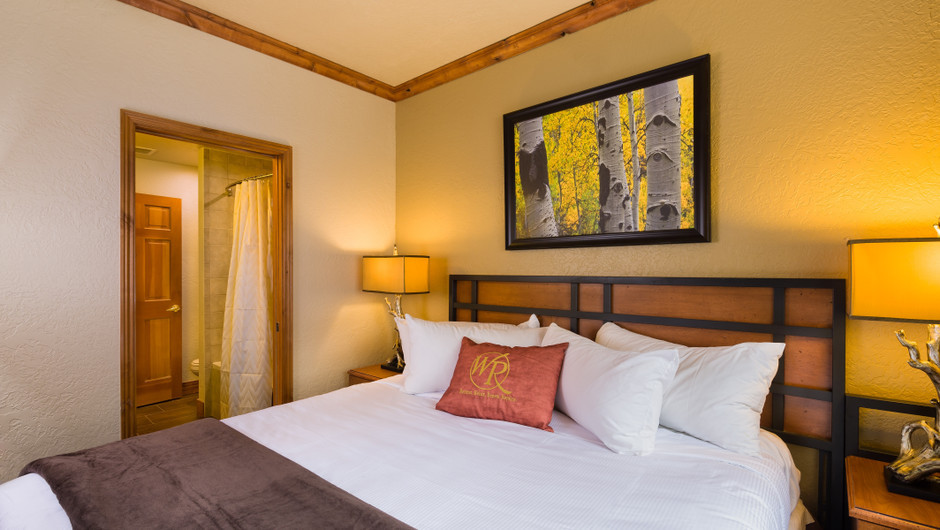 Signature Two-Bedroom Villa Bed in our Park City Resort in Utah | Westgate Park City Resort & Spa | Westgate Resorts