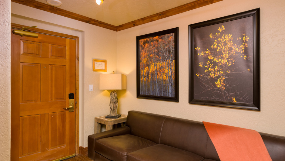 Signature Suite Living Area at our Park City Ski Resort in Utah | Westgate Park City Resort & Spa | Westgate Resorts