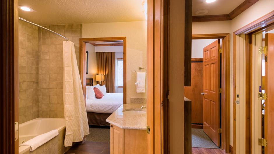 Signature Two-Bedroom Villa Bathroom in our Park City Resort in Utah | Westgate Park City Resort & Spa | Westgate Resorts