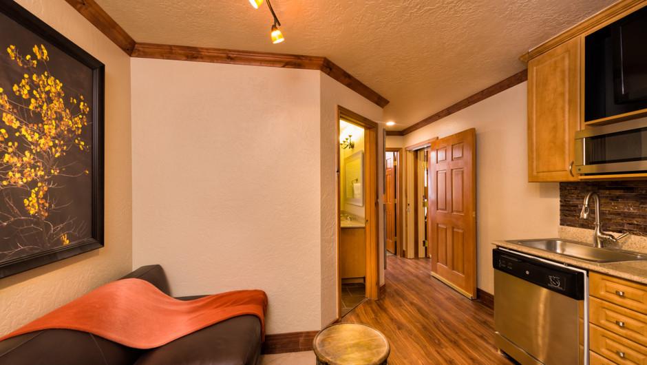 Signature Two-Bedroom Villa Living Area at our Park City Resort in Utah | Westgate Park City Resort & Spa | Westgate Ski Resorts