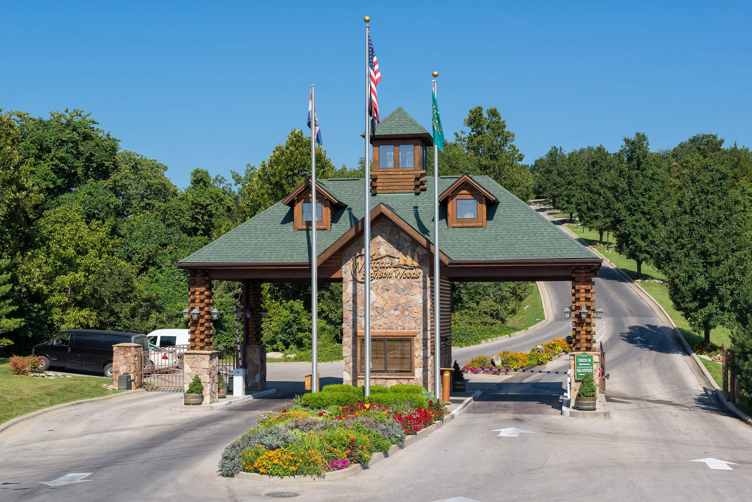 Main entrance to Branson resort | Westgate Branson Woods Resort | Westgate Resorts