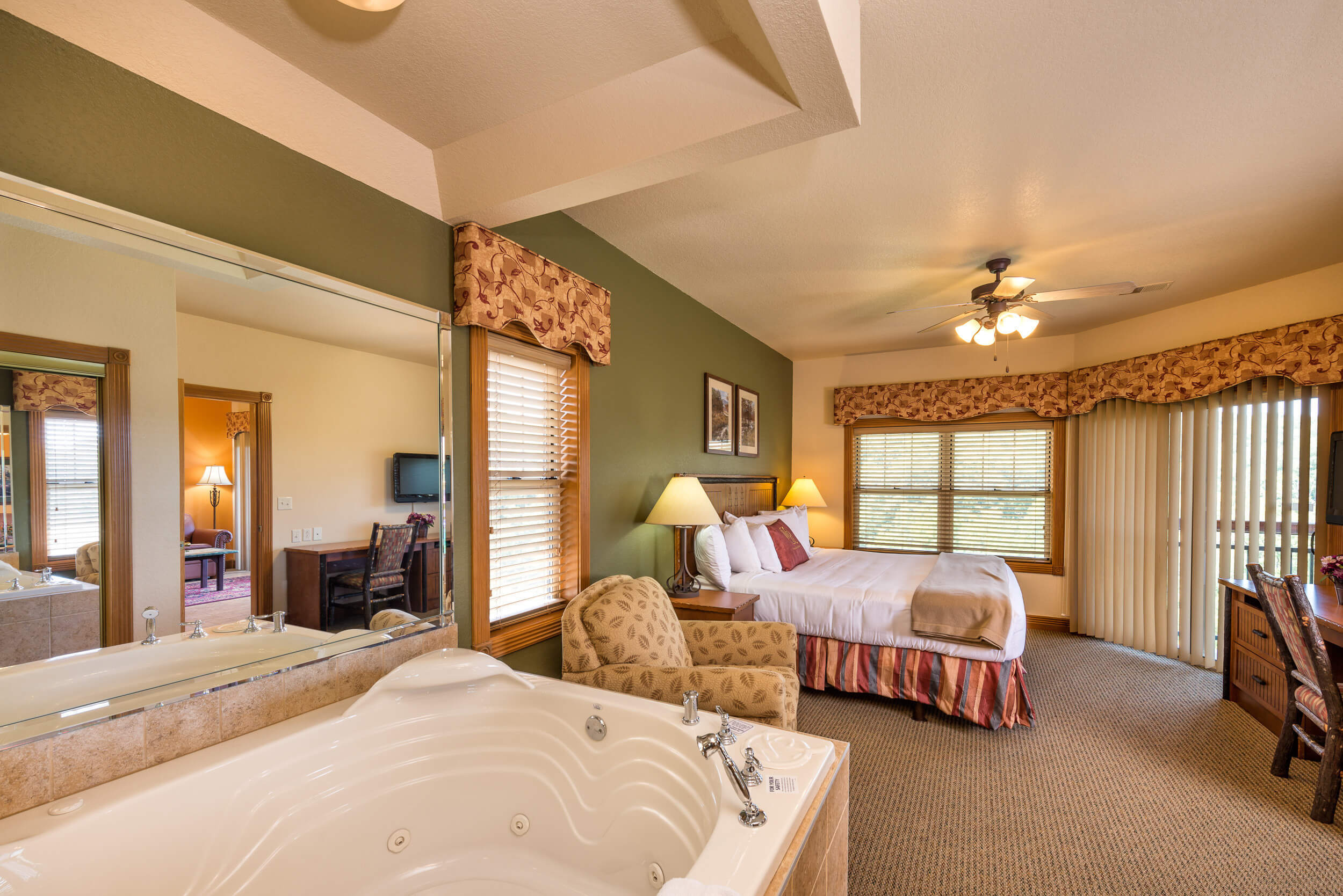 Hot-tub in One Bedroom Grand Villa in our Branson Villas | Westgate Branson Woods Resort | Westgate Resorts