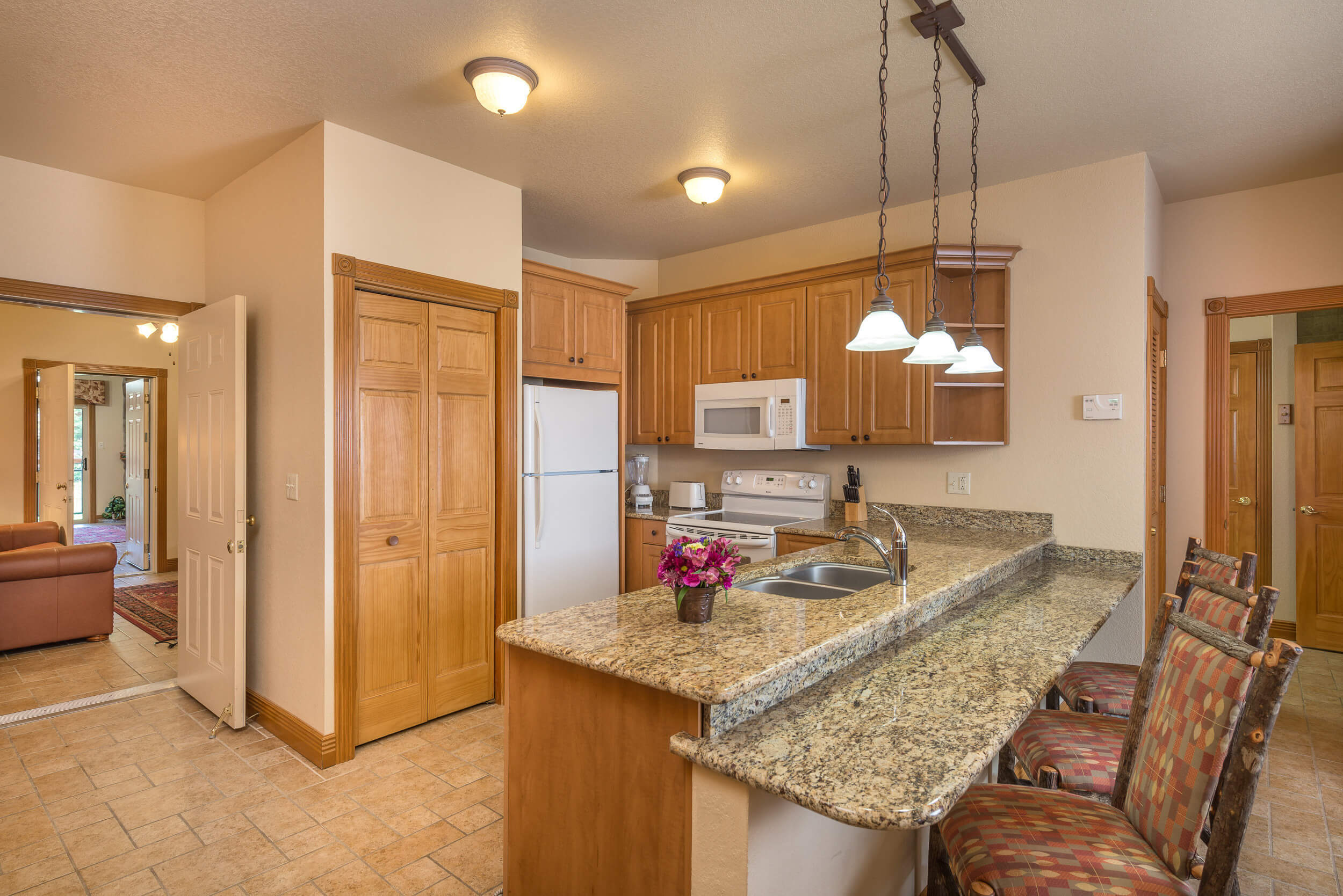 Kitchen for One-Bedroom Grand Villa in our Branson Villas | Westgate Branson Woods Resort | Westgate Resorts