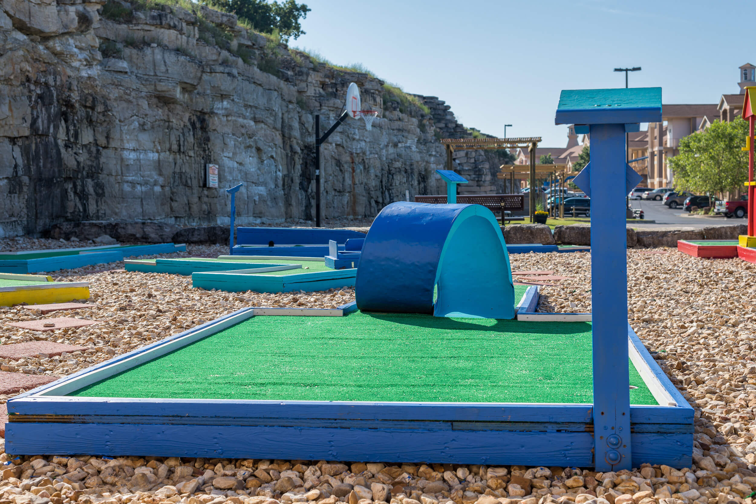 Onsite mini golf course with 18 holes | Westgate Branson Lakes Resort | Westgate Family Resorts in Missouri