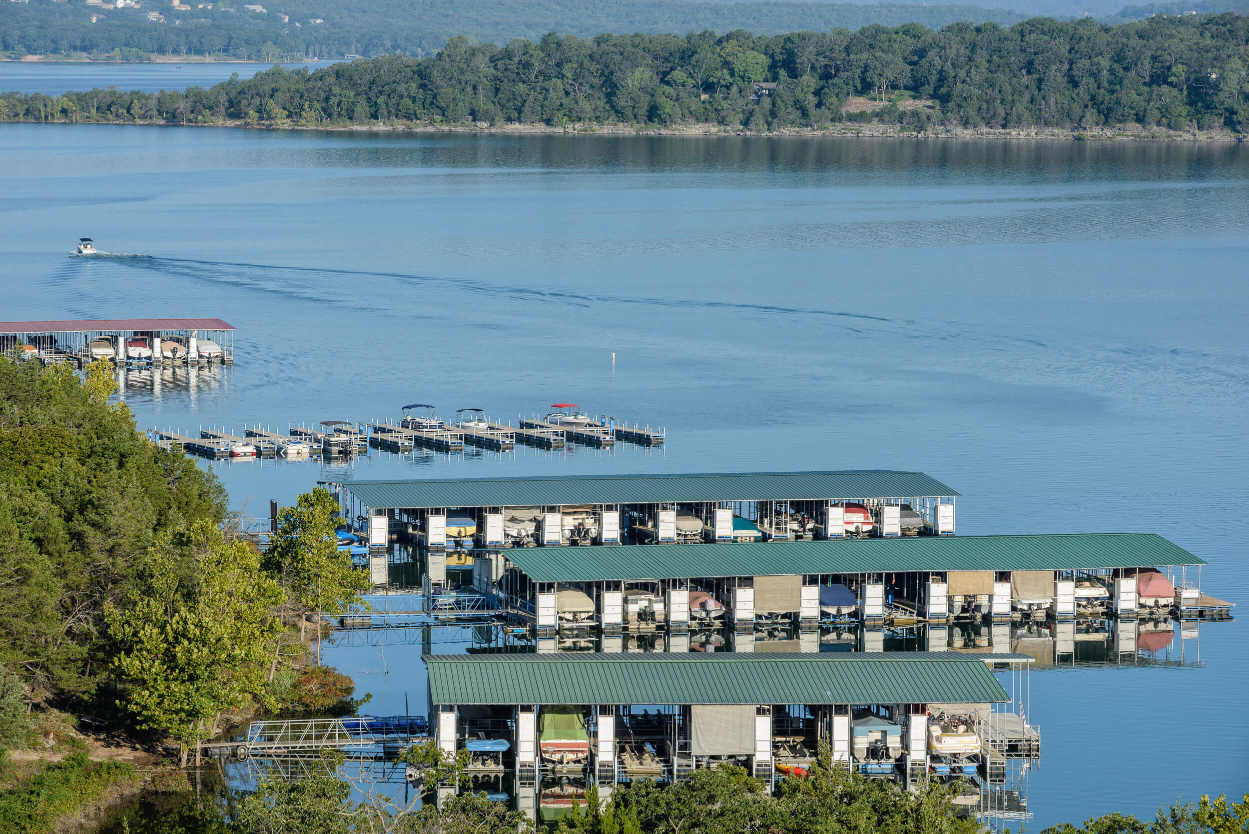 Boat marina on Table Rock Lake | Westgate Branson Lakes Resort | Westgate Lake Resorts in Missouri