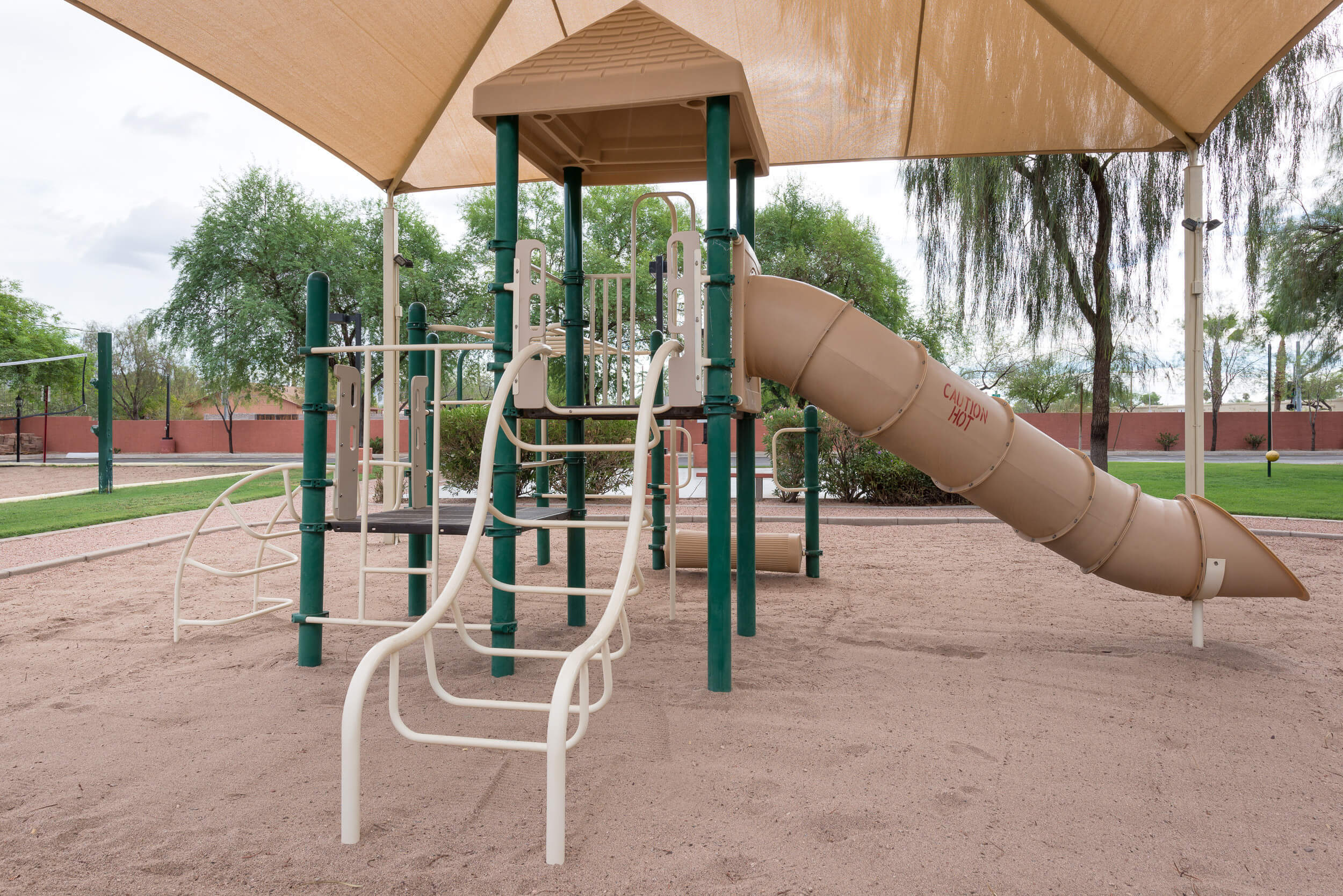 Playground next to Sand Volleyball Court | Westgate Painted Mountain Golf Resort