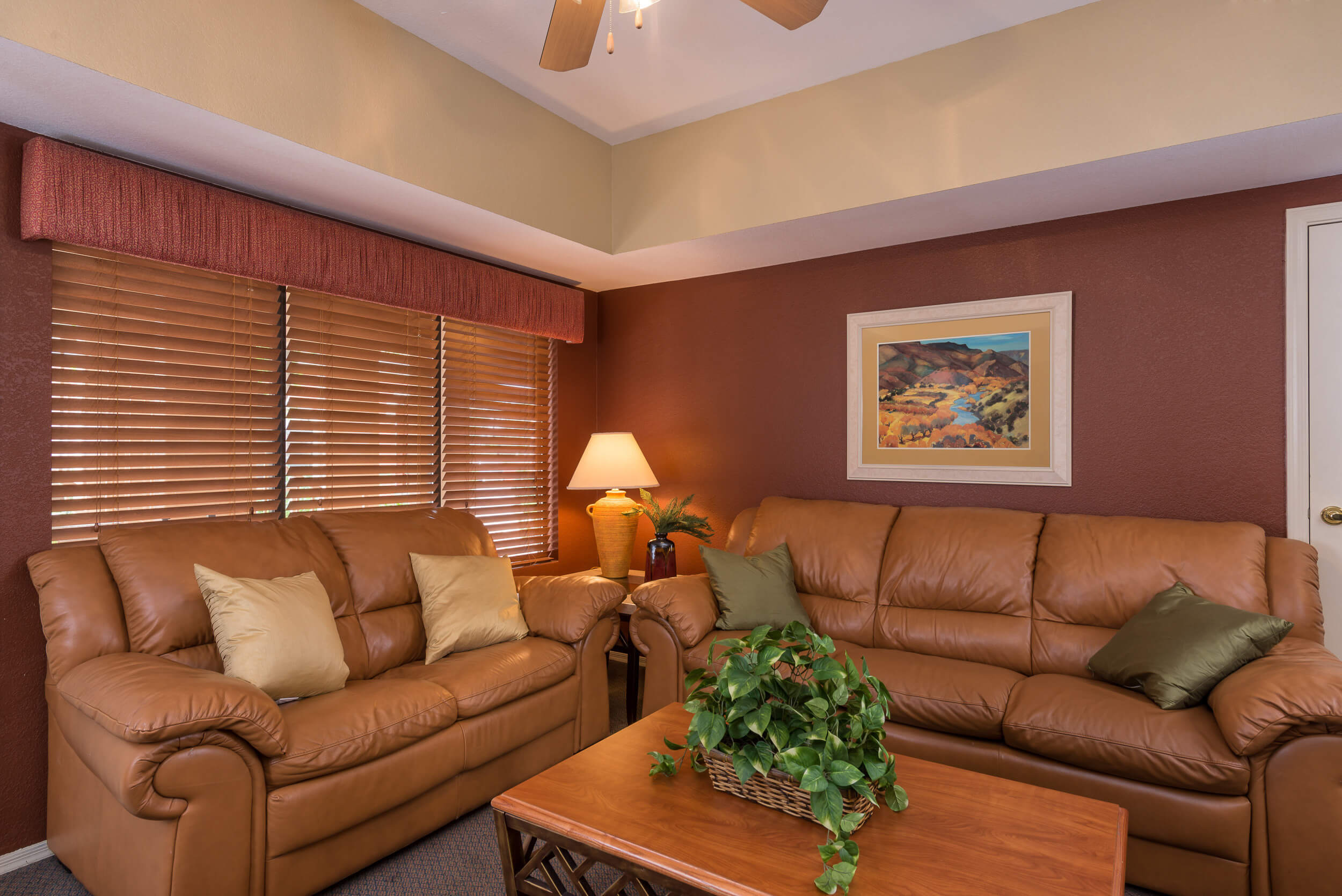 Living Room in 2 Bedroom Villa at Painted Mountain golf resort Mesa AZ | Westgate Painted Mountain Golf Resort | Westgate Resorts