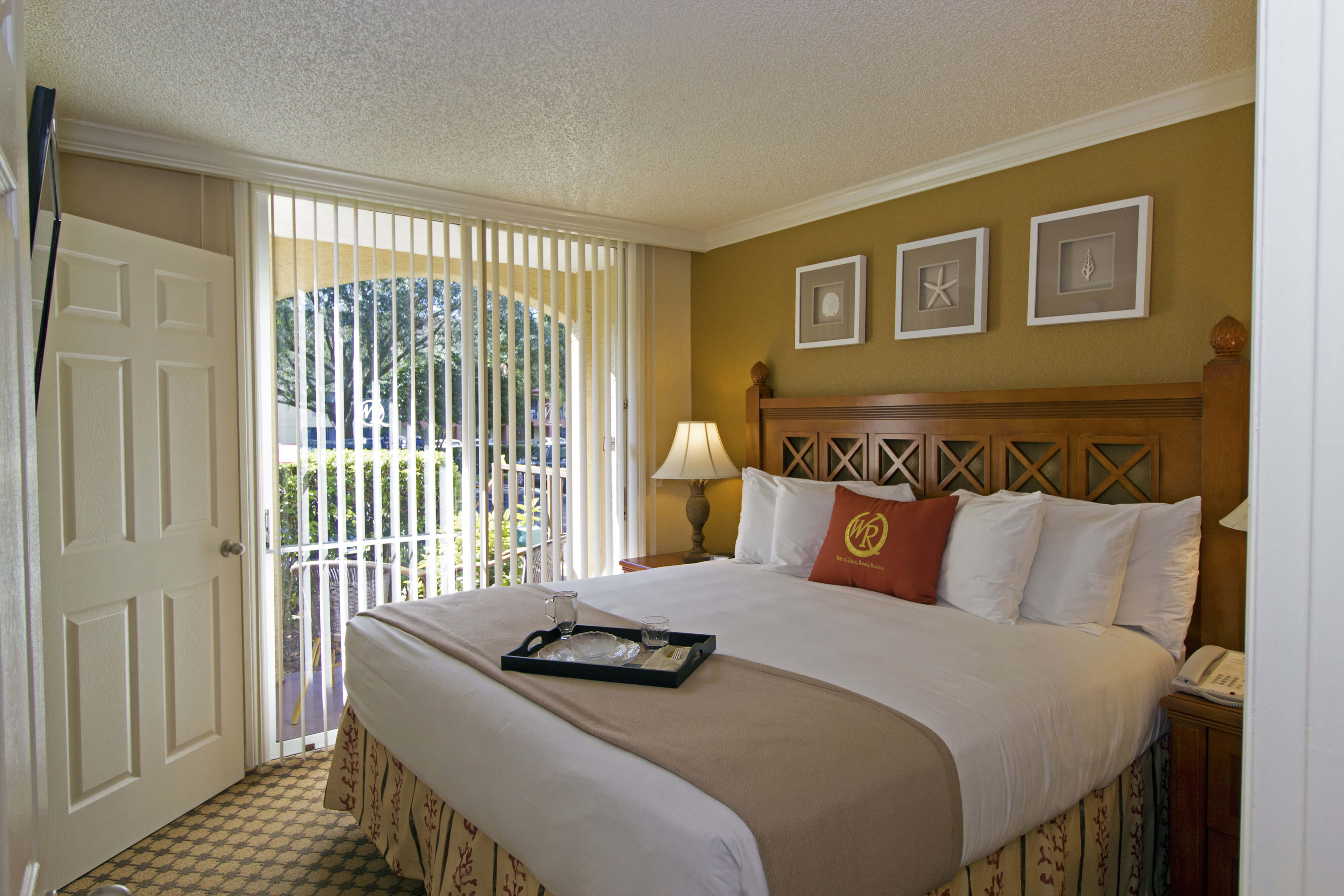 King Bed in One-Bedroom Villa | Westgate Blue Tree Resort | Westgate Resorts Orlando