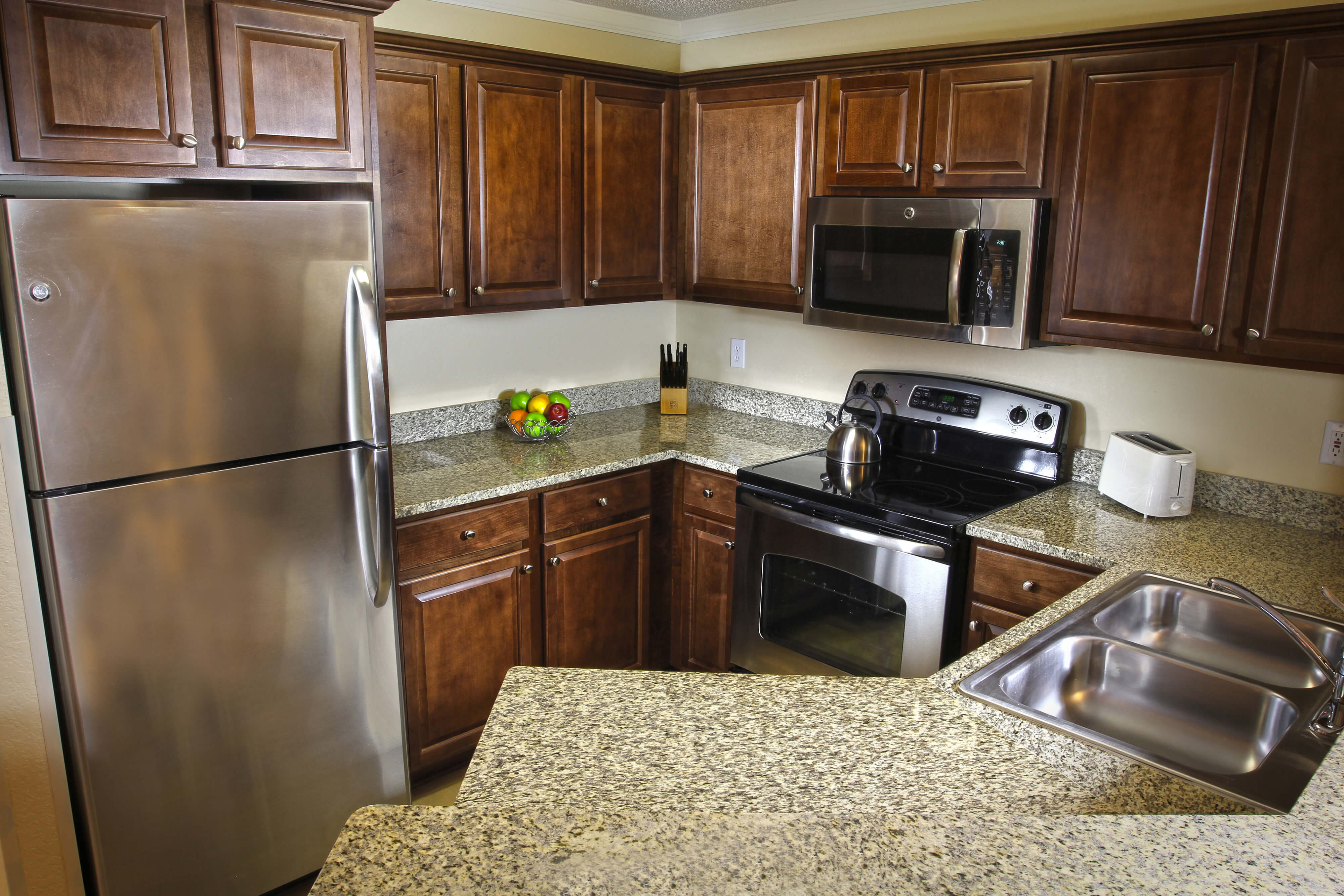 Full Kitchen in Two-Bedroom Villa | Westgate Blue Tree Resort | Westgate Resorts Orlando