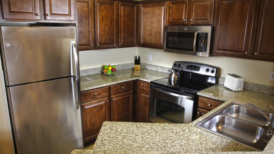 Kitchen   Two-Bedroom Villa   Westgate Blue Tree Resort   Westgate Resorts Orlando