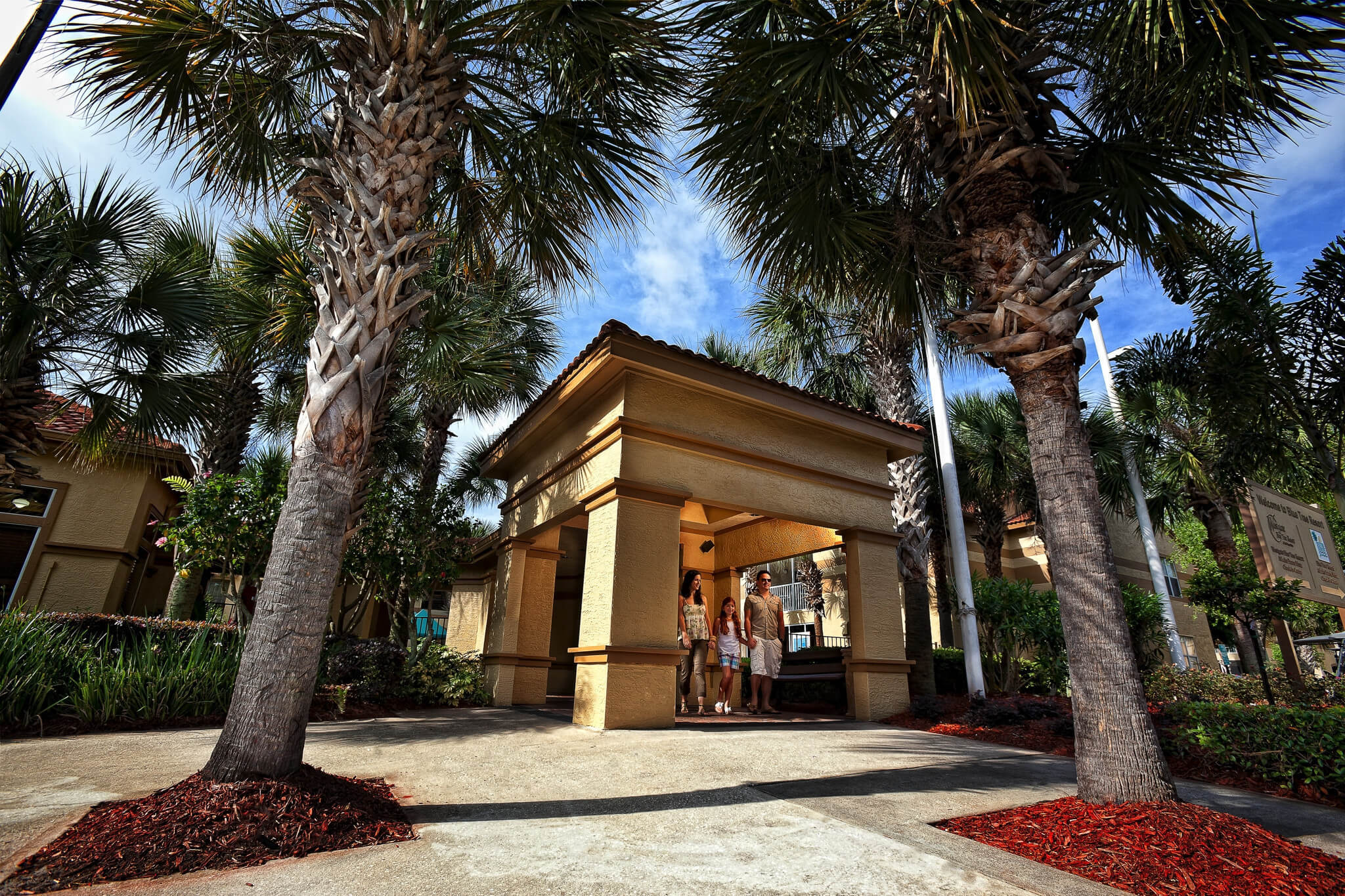 Guests exploring Resort grounds | Westgate Blue Tree Resort | Westgate Resorts Orlando