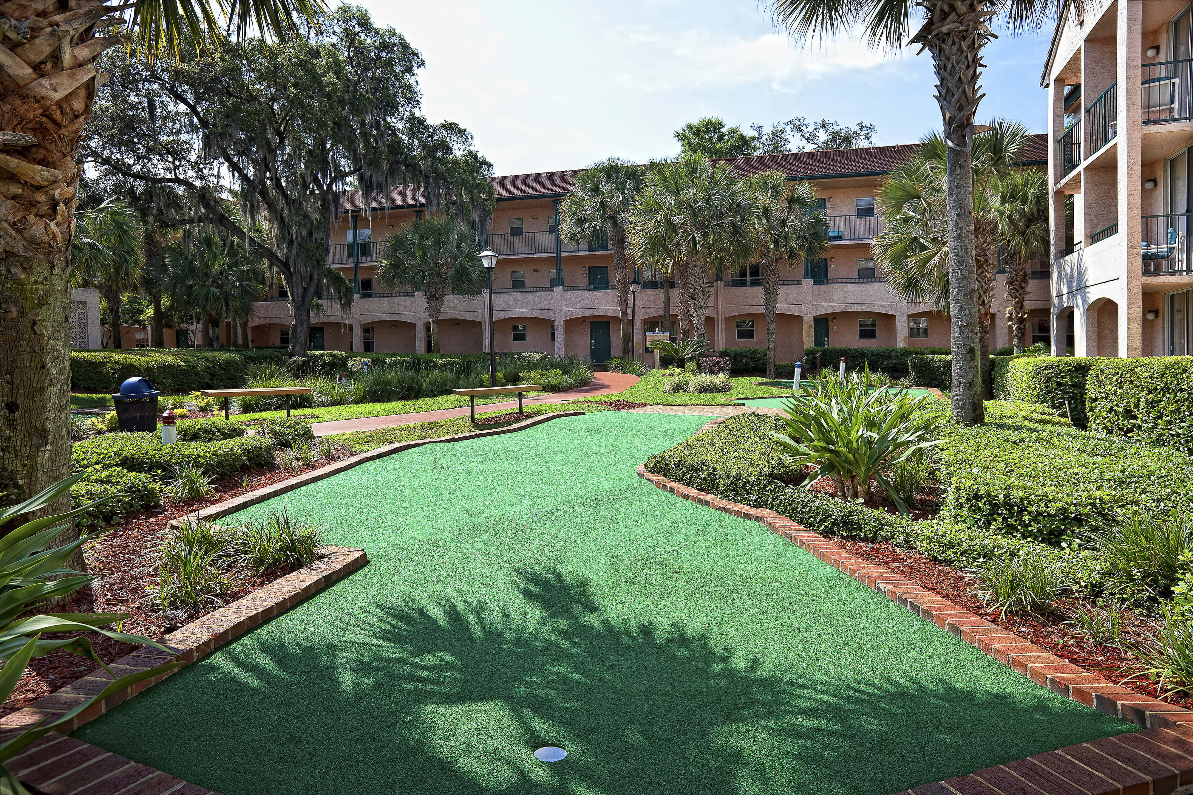 Miniature Golf Course winding through Resort grounds | Westgate Blue Tree Resort