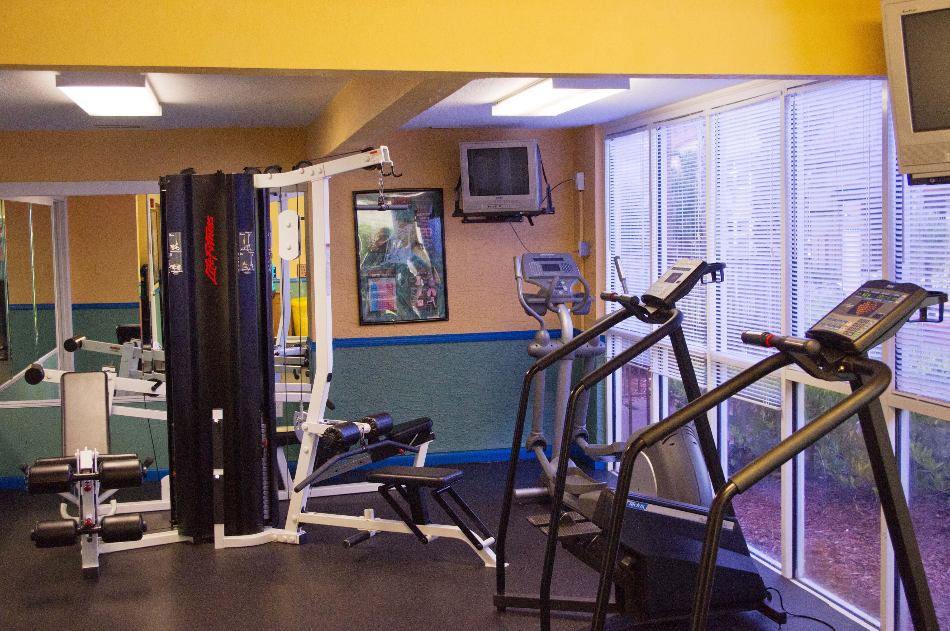 Premium workout equipment in Fitness Center | Westgate Blue Tree Resort