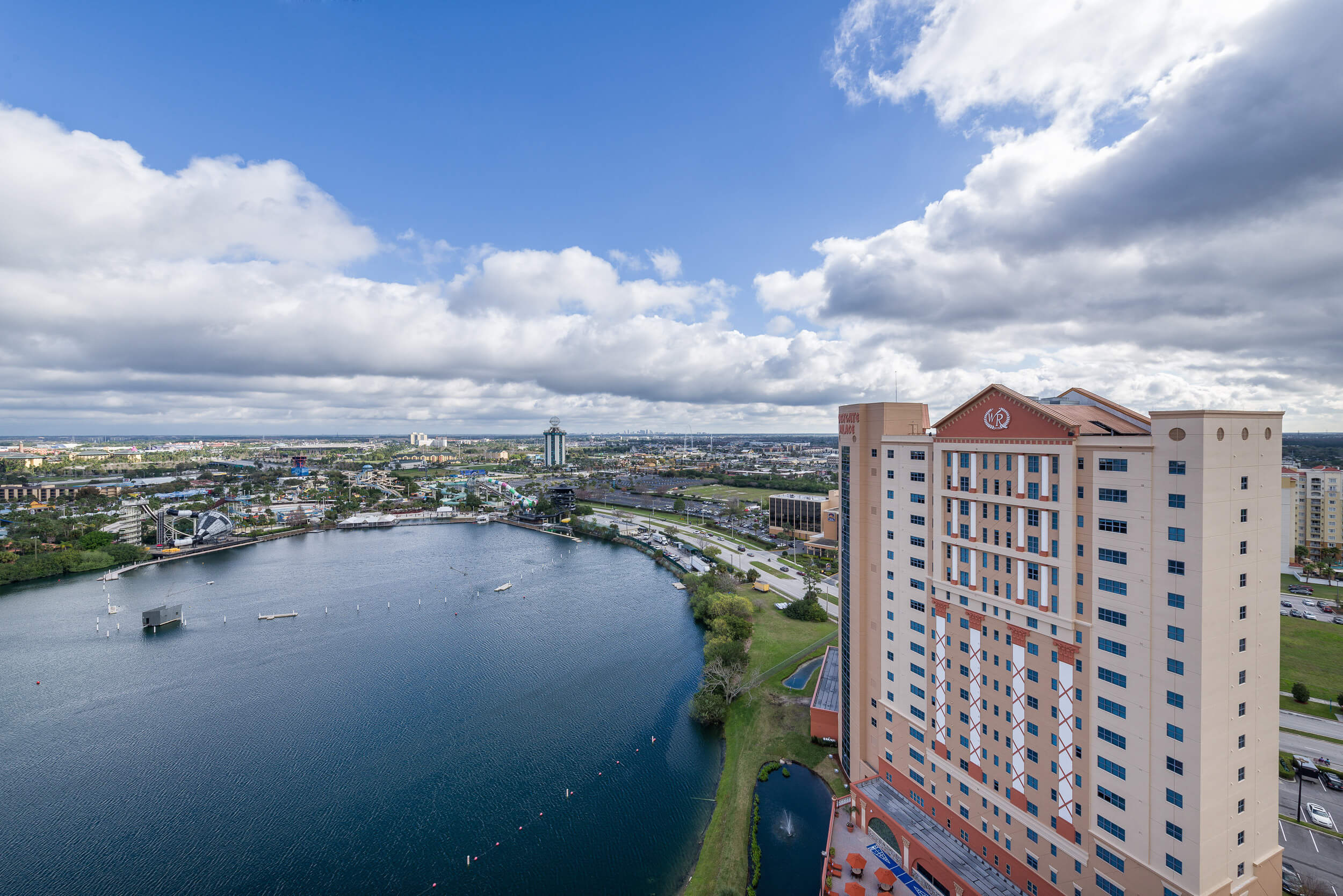 Overhead View of Resort Location | Westgate Palace Resort | Orlando, FL | Westgate Resorts