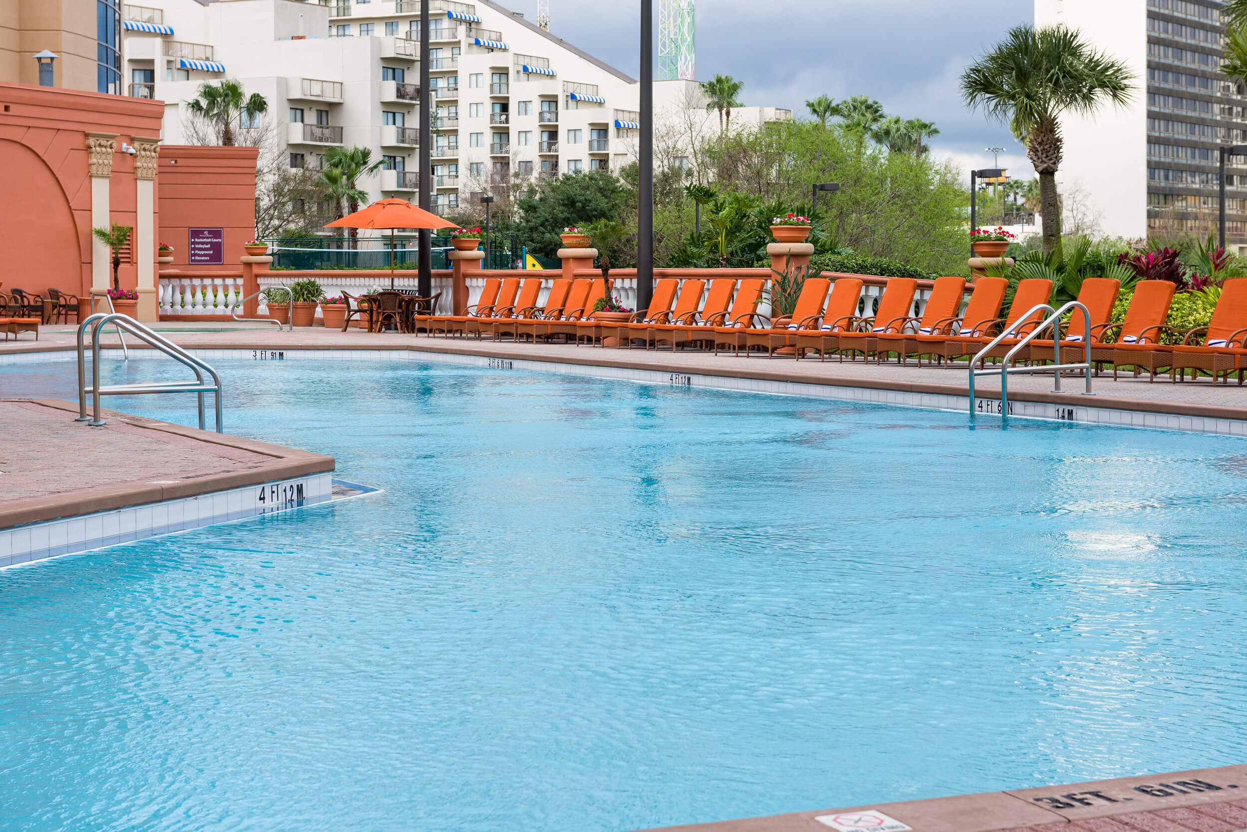 Pool at one of our resorts on international drive in Orlando Florida | Westgate Palace Resorts | Westgate Resorts
