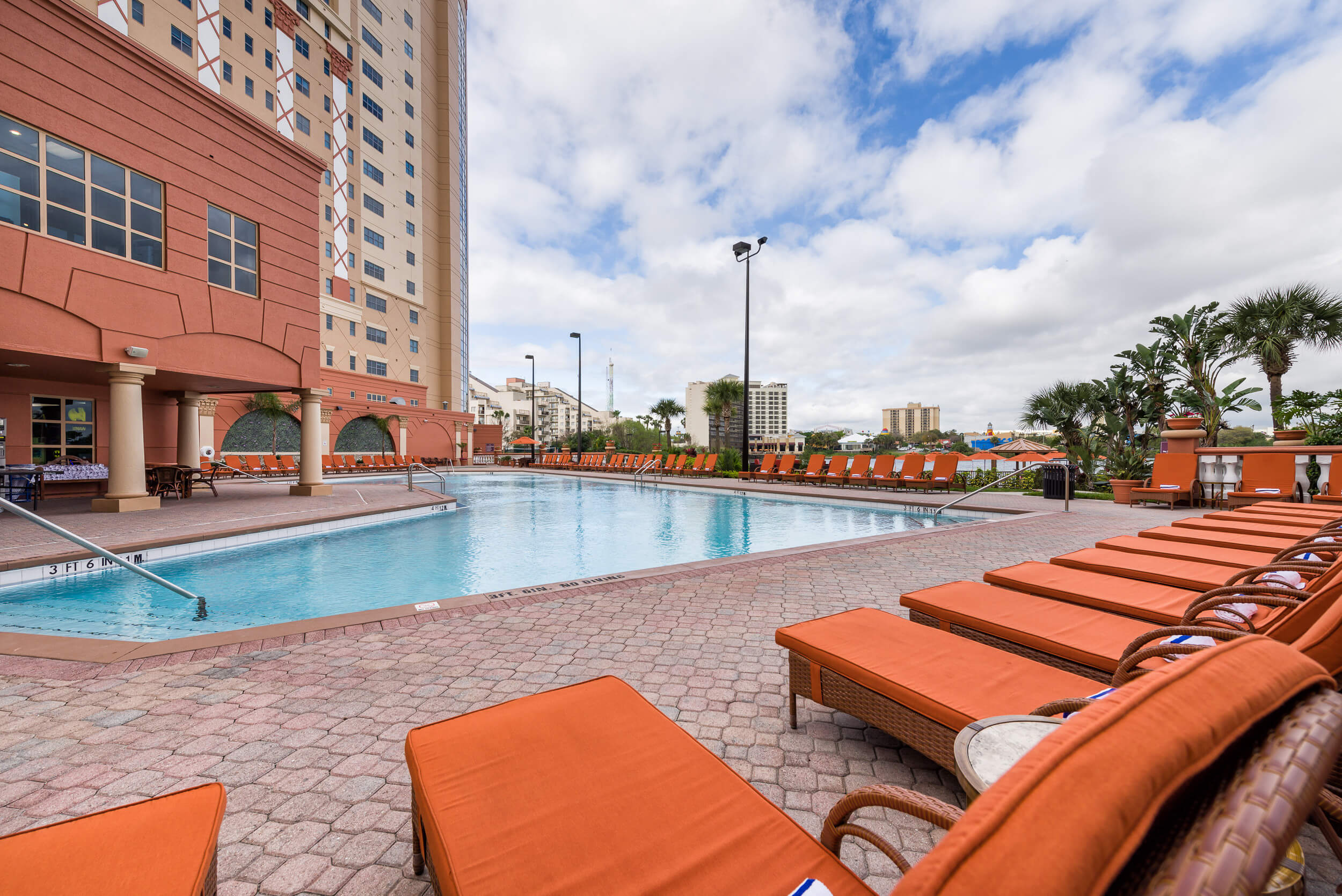 Pool Deck | Westgate Palace Resort | Orlando, FL | Westgate Resorts