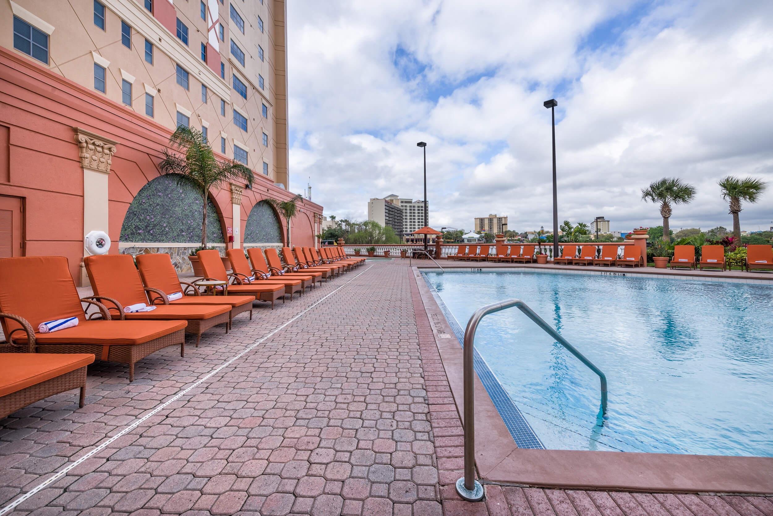 Pool Deck | Westgate Palace Resort | Orlando, FL | Westgate Resorts