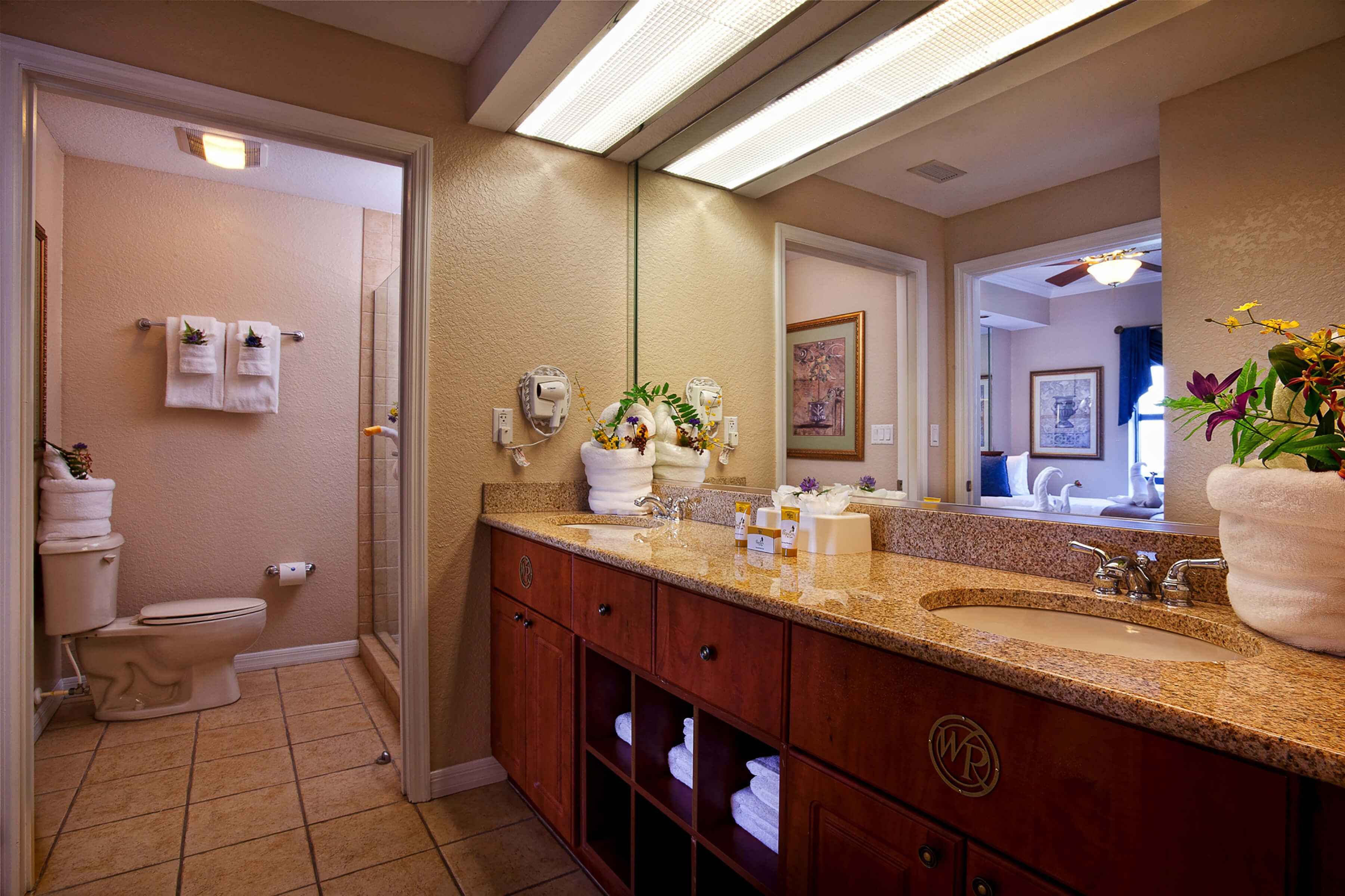 Bathroom in Villa | Westgate Palace Resort | Orlando, FL | Westgate Resorts