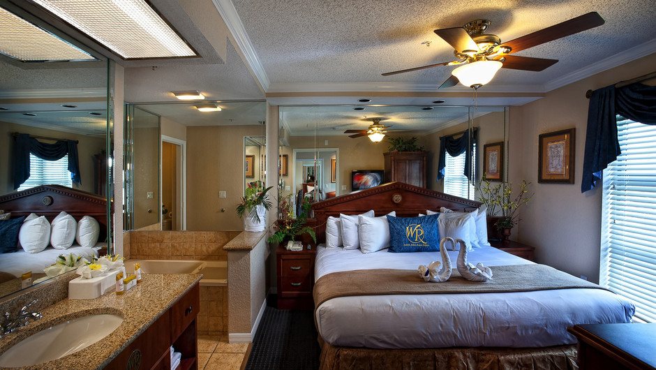 Master Bedroom | Two-Bedroom Deluxe Villa | Westgate Palace Resort | Orlando, FL | Westgate Resorts