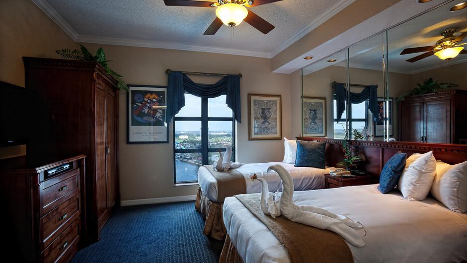 Second Bedroom | Two-Bedroom Deluxe Villa | Westgate Palace Resort | Orlando, FL | Westgate Resorts