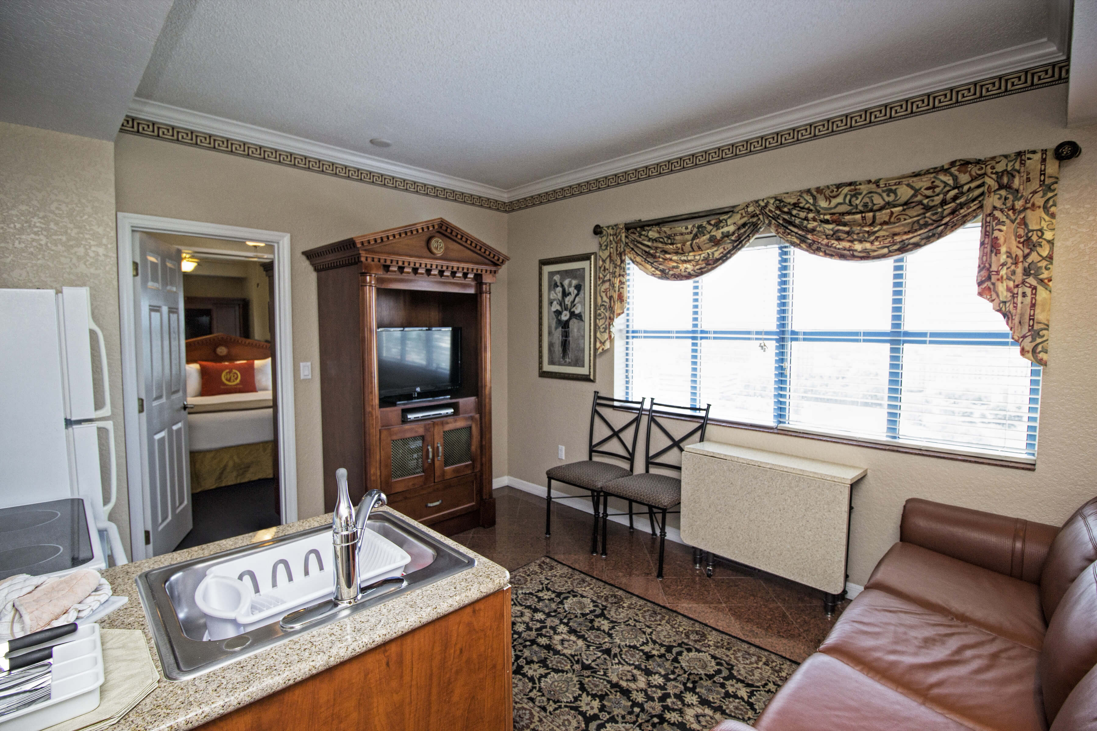 View of our 2 bedroom suites near Universal Studios Orlando | Westgate Palace Resort | Westgate Resorts