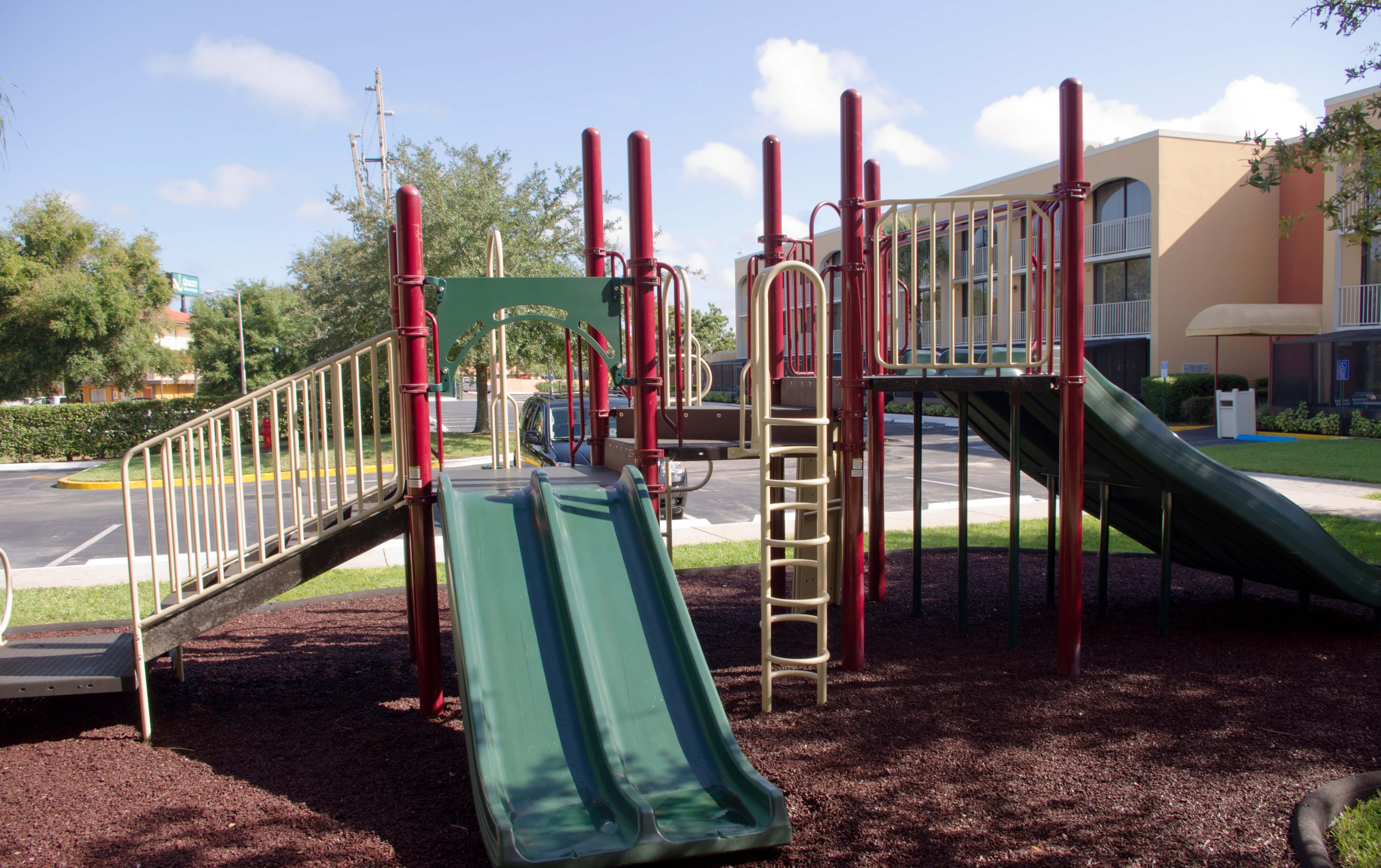 Playground at our family friendly resorts in Orlando Florida near Disney | Westgate Towers Resort | Westgate Resorts