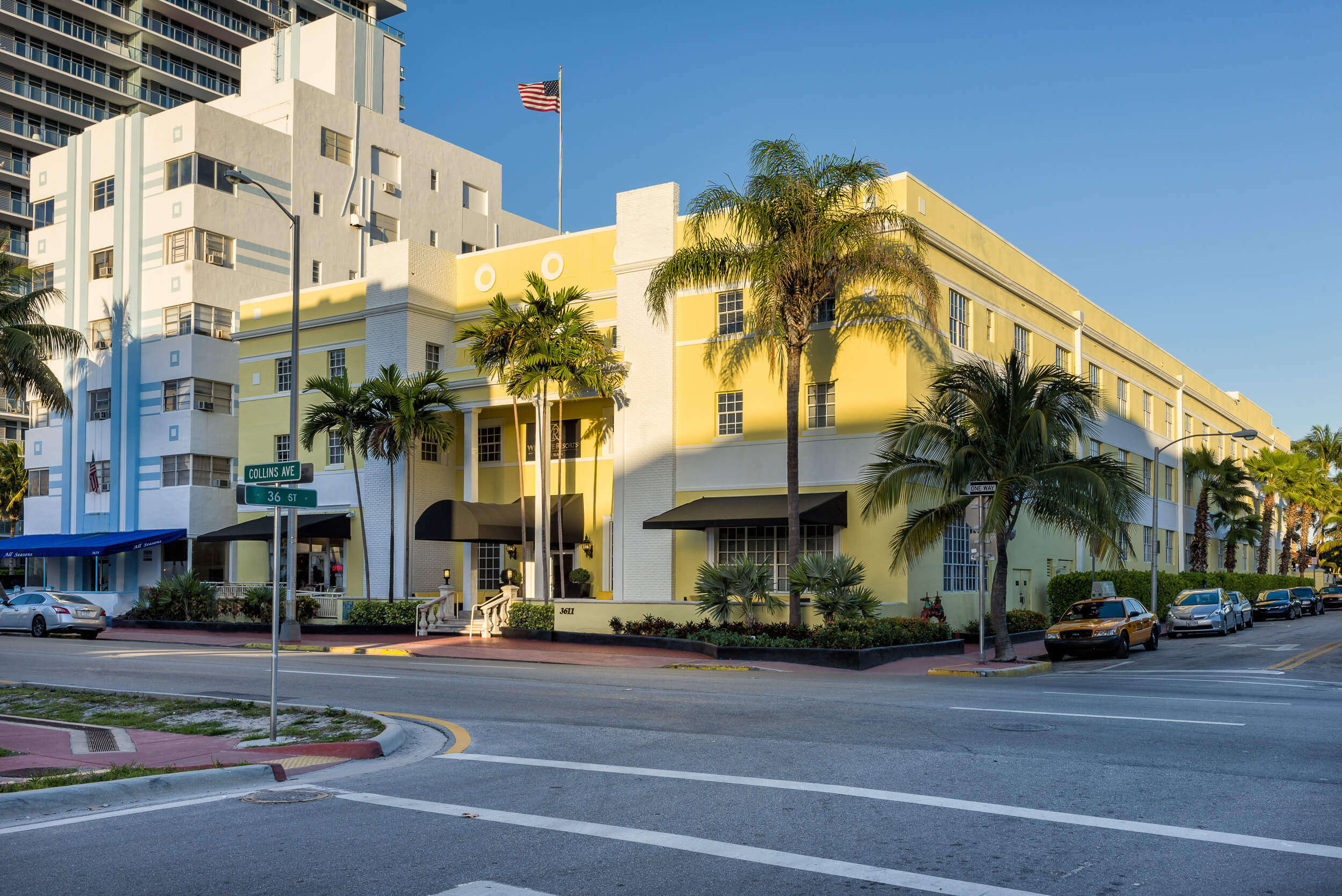 Intersection of Collins Avenue in front of Miami Beach resort | Westgate South Beach Oceanfront Resort