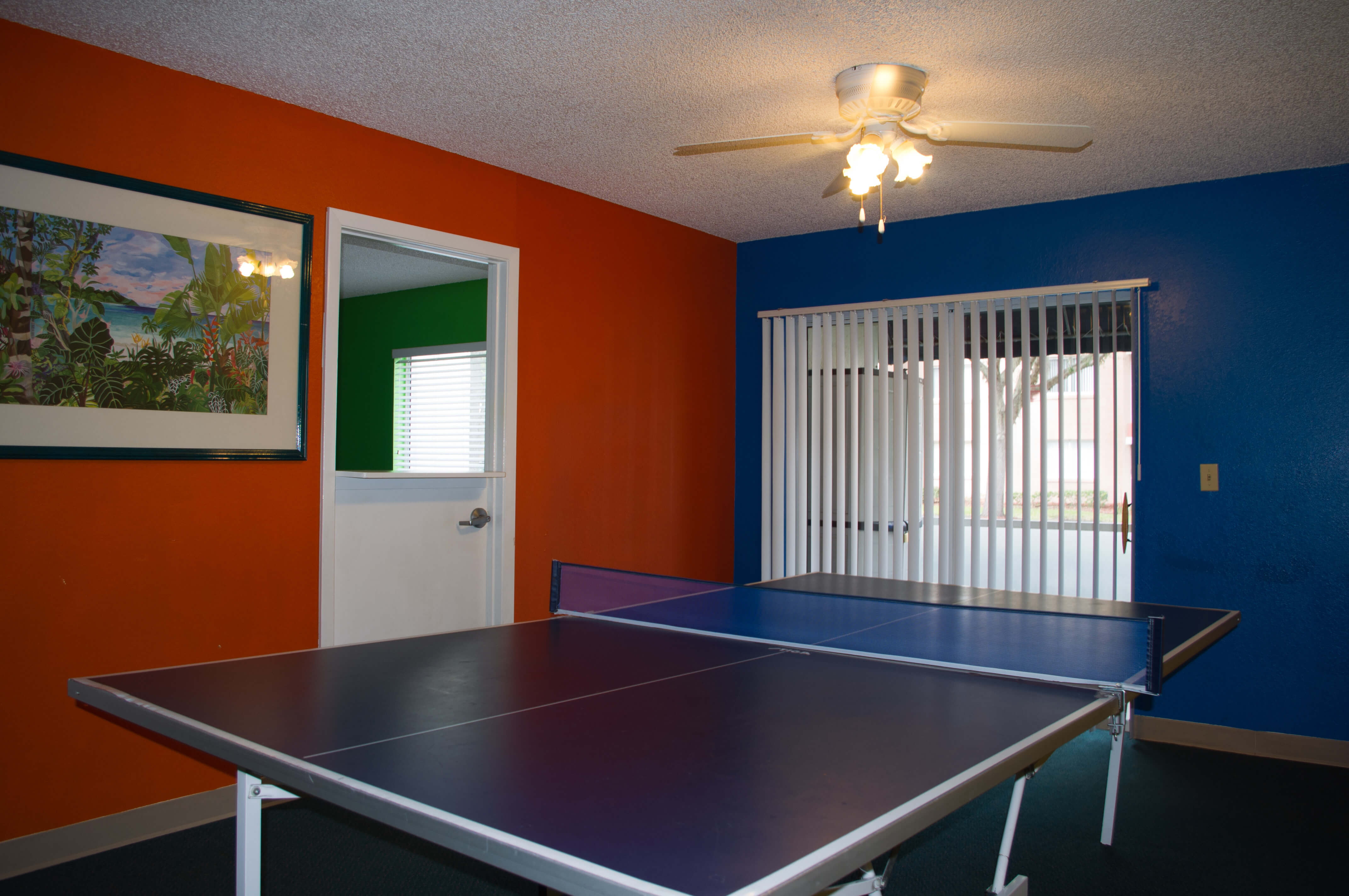 Ping-Pong Table in Activity Center at one of our leisure resorts next to SeaWorld | Westgate Leisure Resort | Westgate Resorts