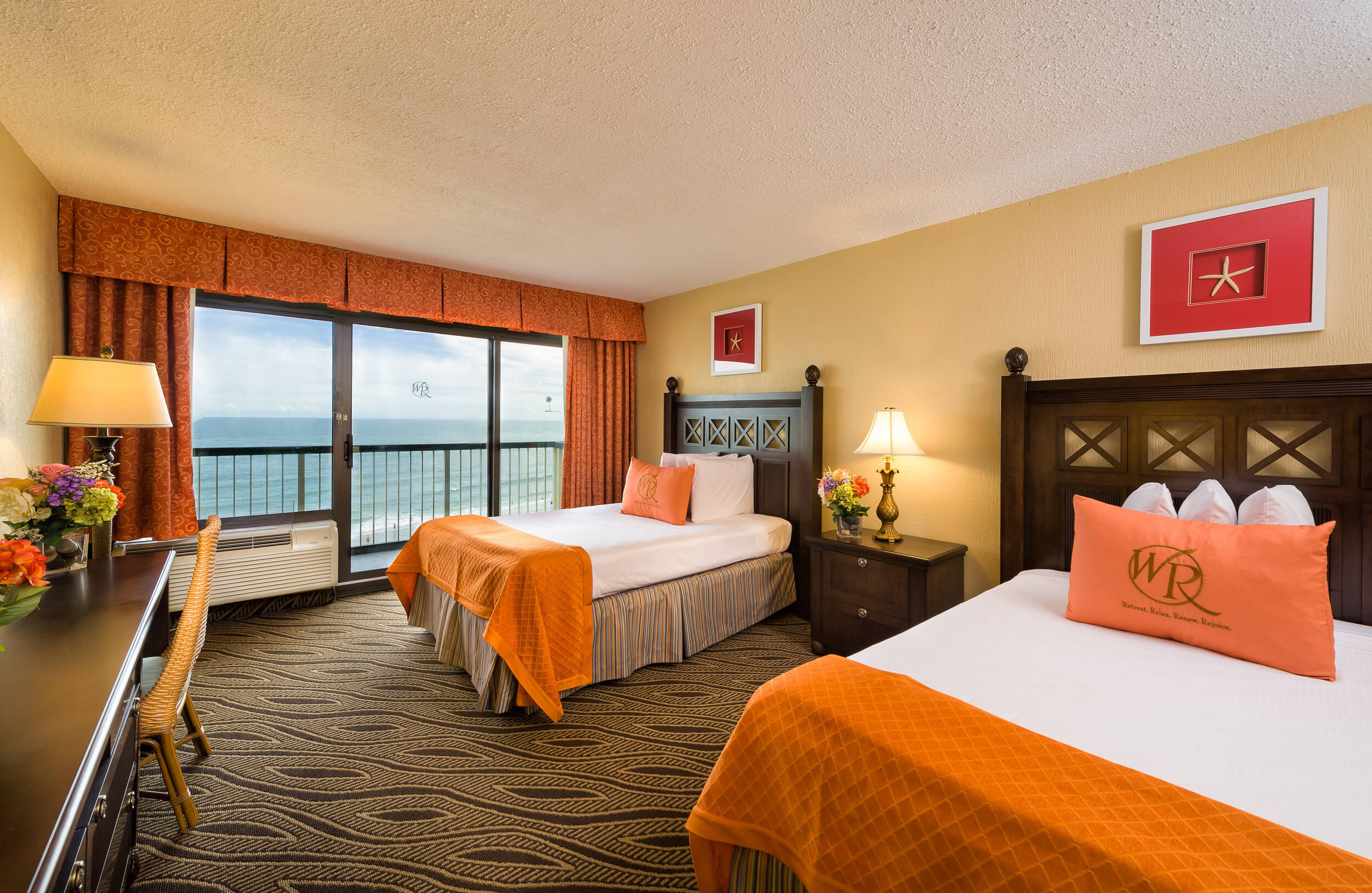 Double Oceanfront Room | Westgate Myrtle Beach Oceanfront Resort | Westgate Resorts