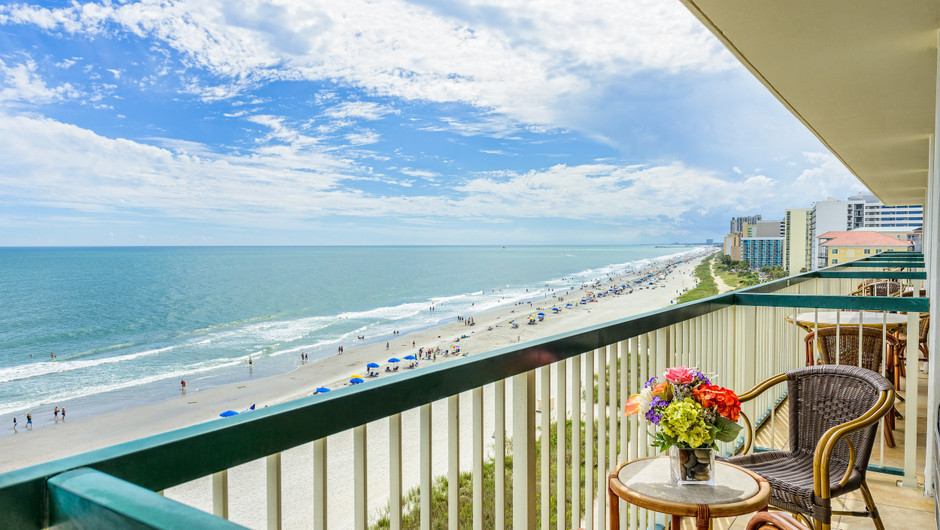 Two Bedroom Oceanfront Villa with Balcony | Westgate Myrtle Beach Oceanfront Resort | Westgate Resorts and Condos in Myrtle Beach