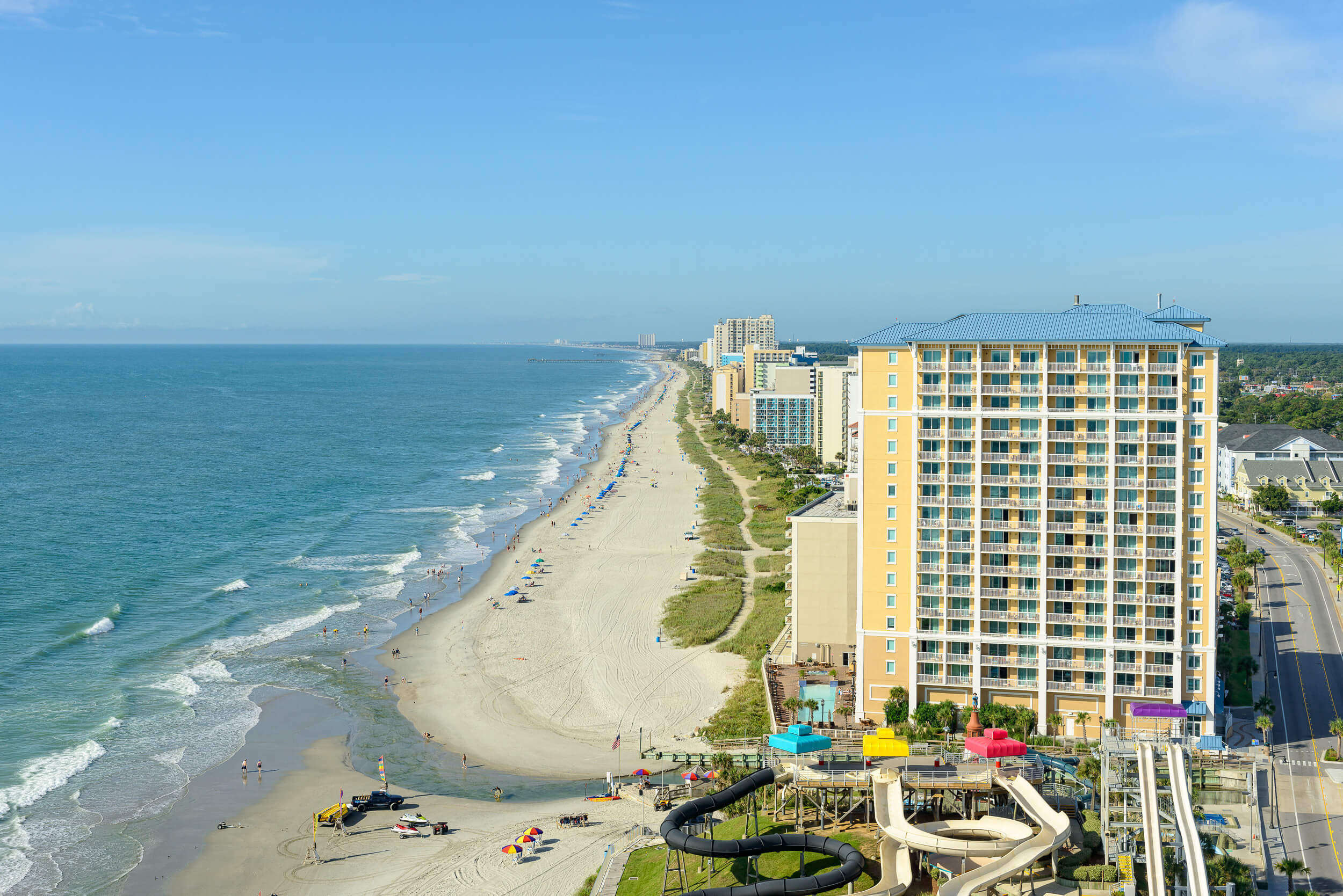 Beachfront resort adjacent to Family Kingdom Amusement Park | Westgate Myrtle Beach Oceanfront Resort