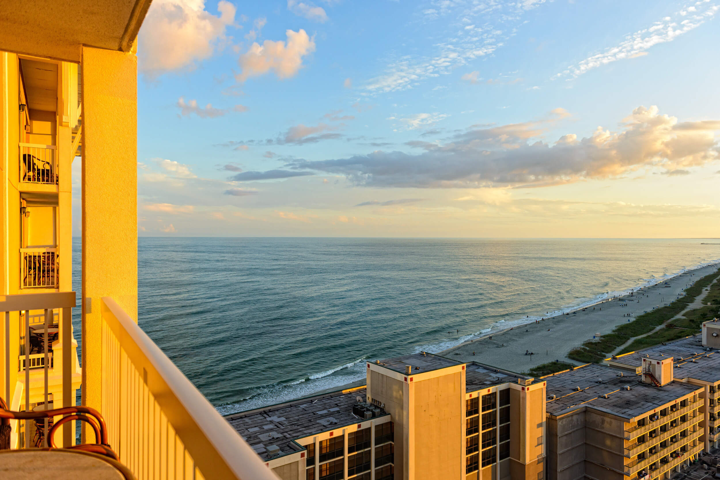 One Bedroom Ocean View Villa Westgate Myrtle Beach Oceanfront Resort Resorts Condos