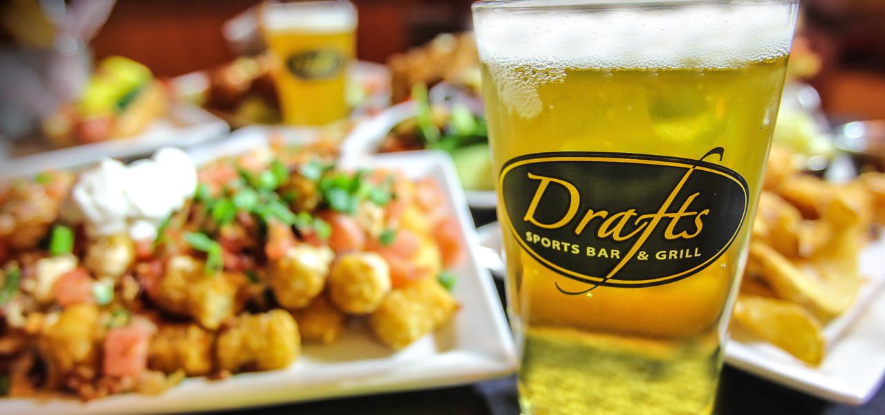 Beer and Food | Drafts Sports Bar & Grill Express | Westgate Las Vegas Resort & Casino | Westgate Resorts