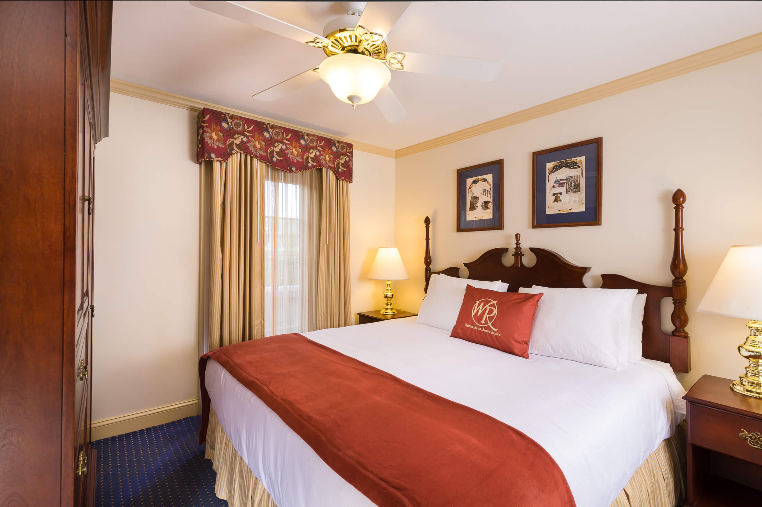 One-Bedroom Villa at our resorts in Williamsburg VA | Westgate Historic Williamsburg Resort | Westgate Resorts