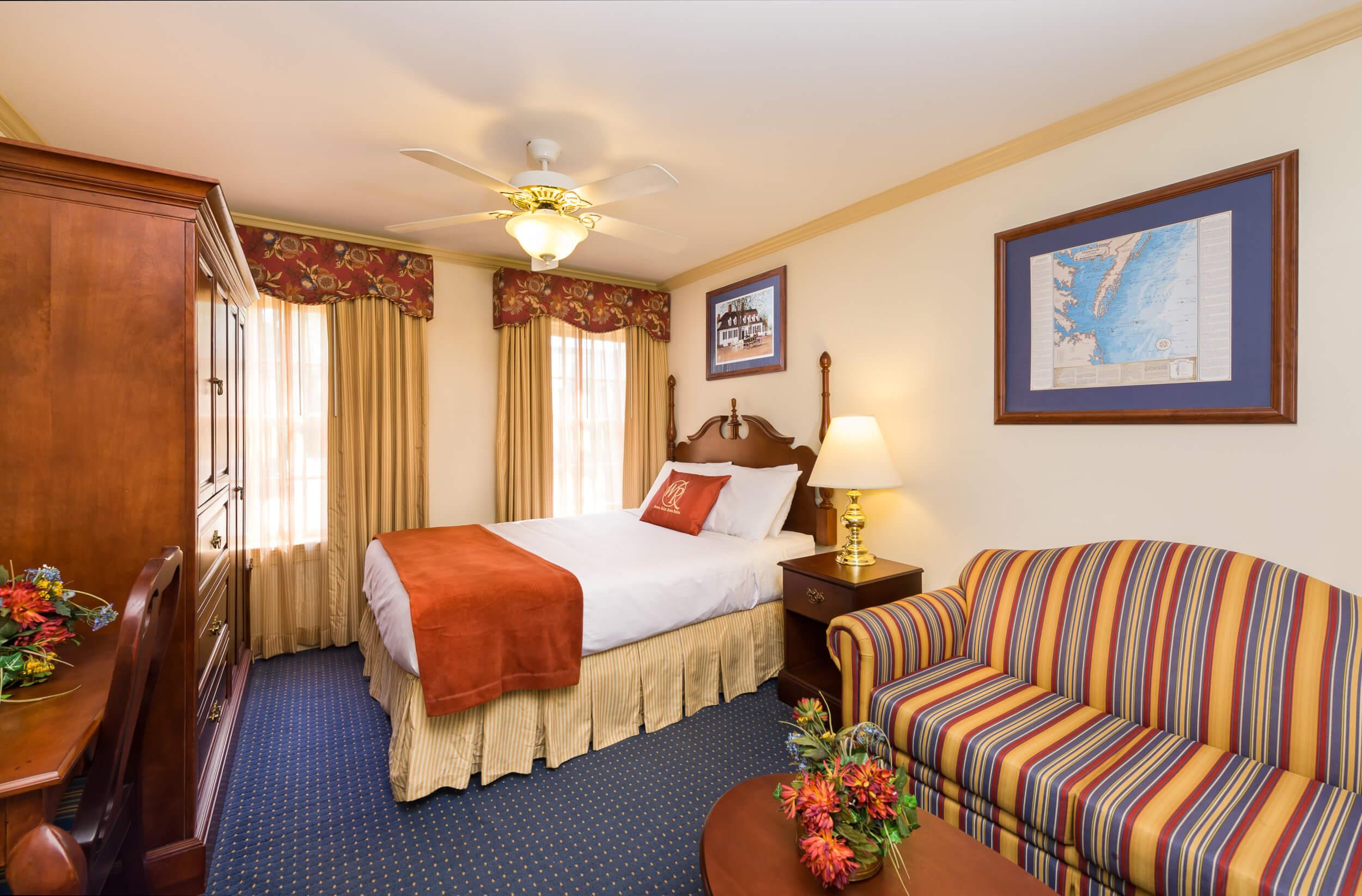 Studio at our resorts in Williamsburg VA | Westgate Historic Williamsburg Resort | Westgate Resorts